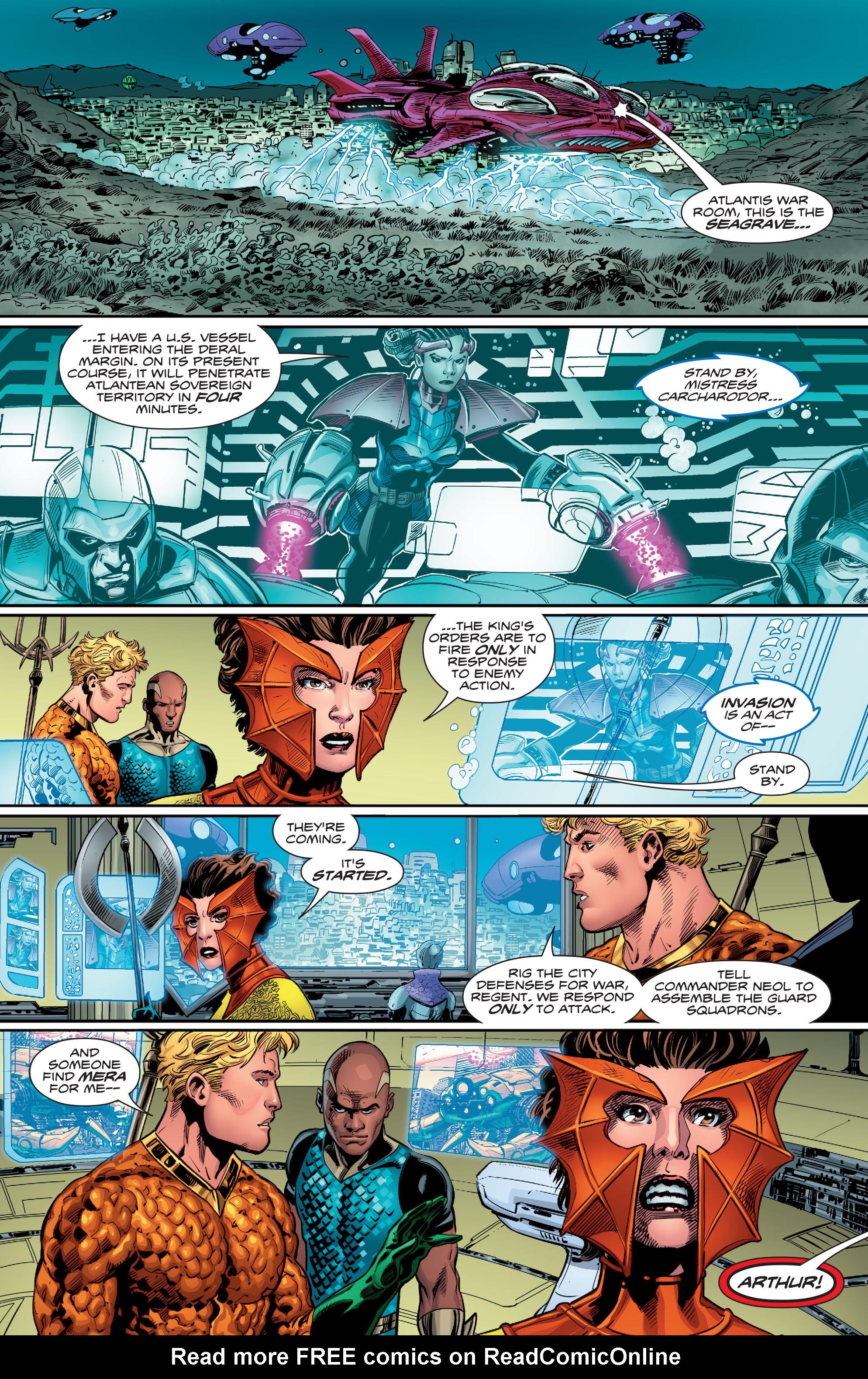 Read online Aquaman (2016) comic -  Issue #12 - 22