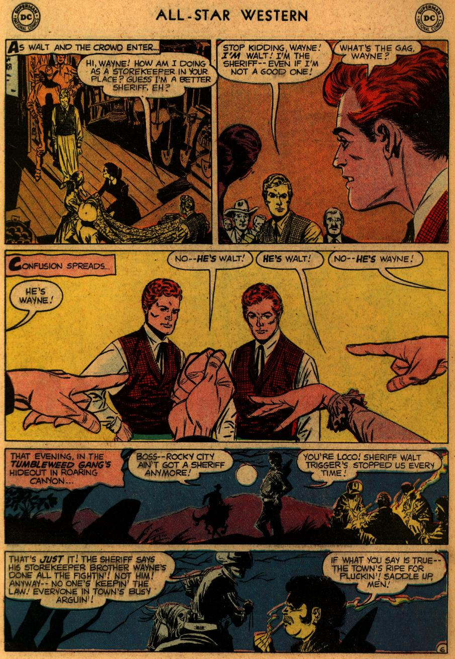 Read online All-Star Western (1951) comic -  Issue #102 - 8