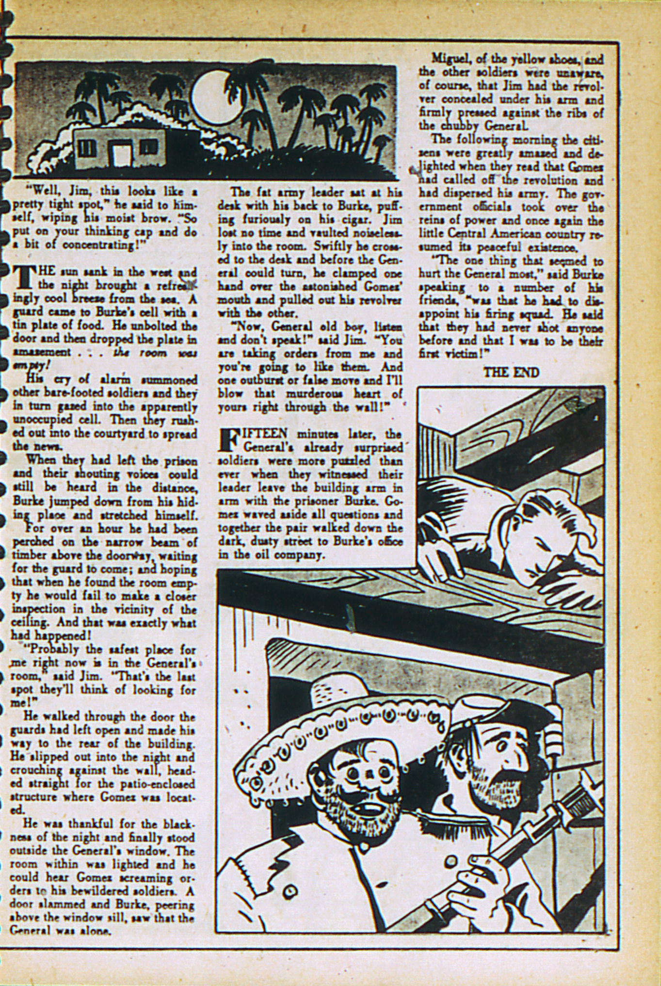 Read online Adventure Comics (1938) comic -  Issue #27 - 21