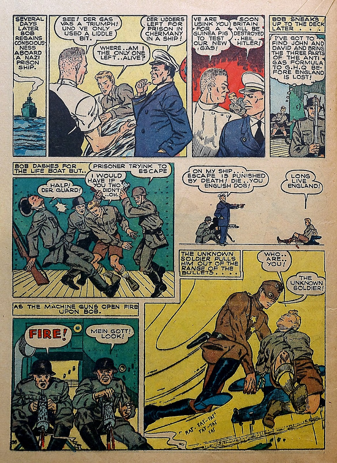 Our Flag Comics issue 5 - Page 33