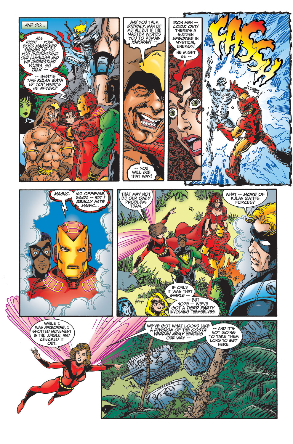 Read online Avengers (1998) comic -  Issue #29 - 7