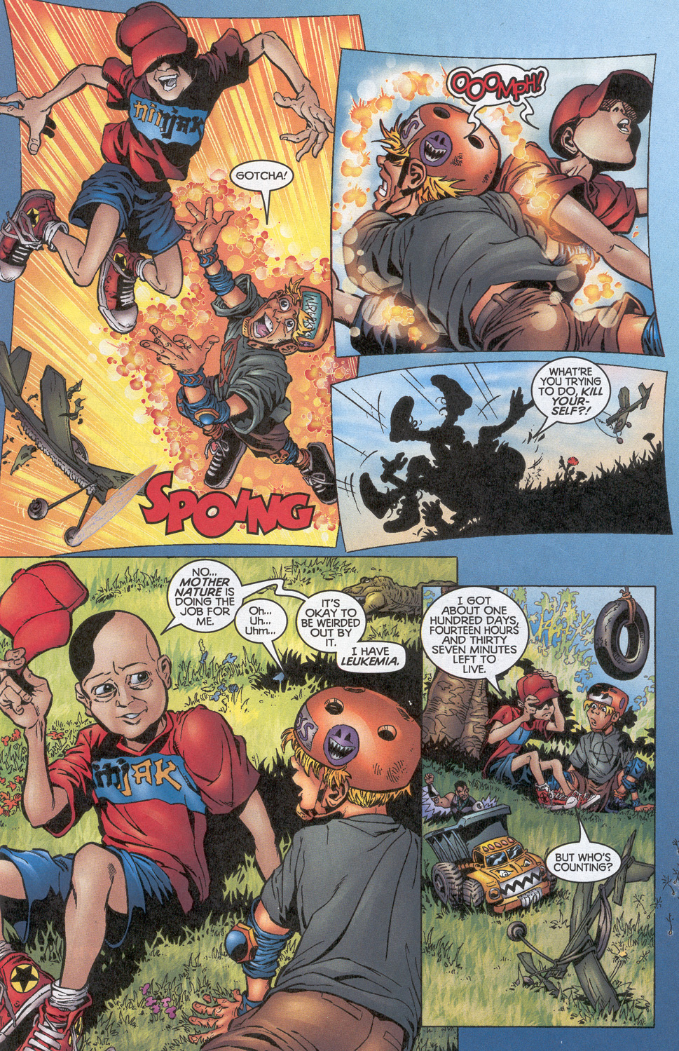 Read online Troublemakers comic -  Issue #10 - 6