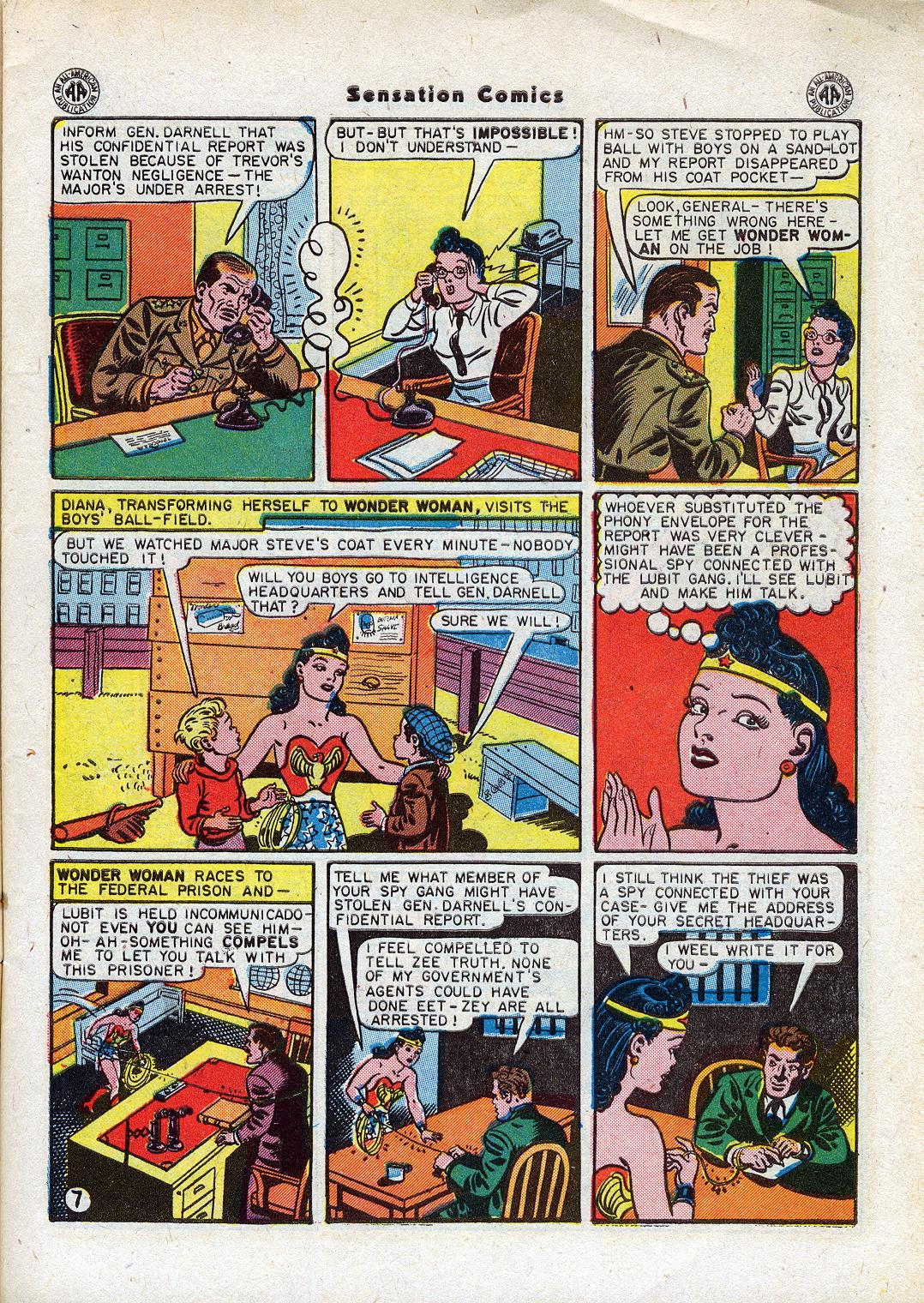 Read online Sensation (Mystery) Comics comic -  Issue #44 - 9