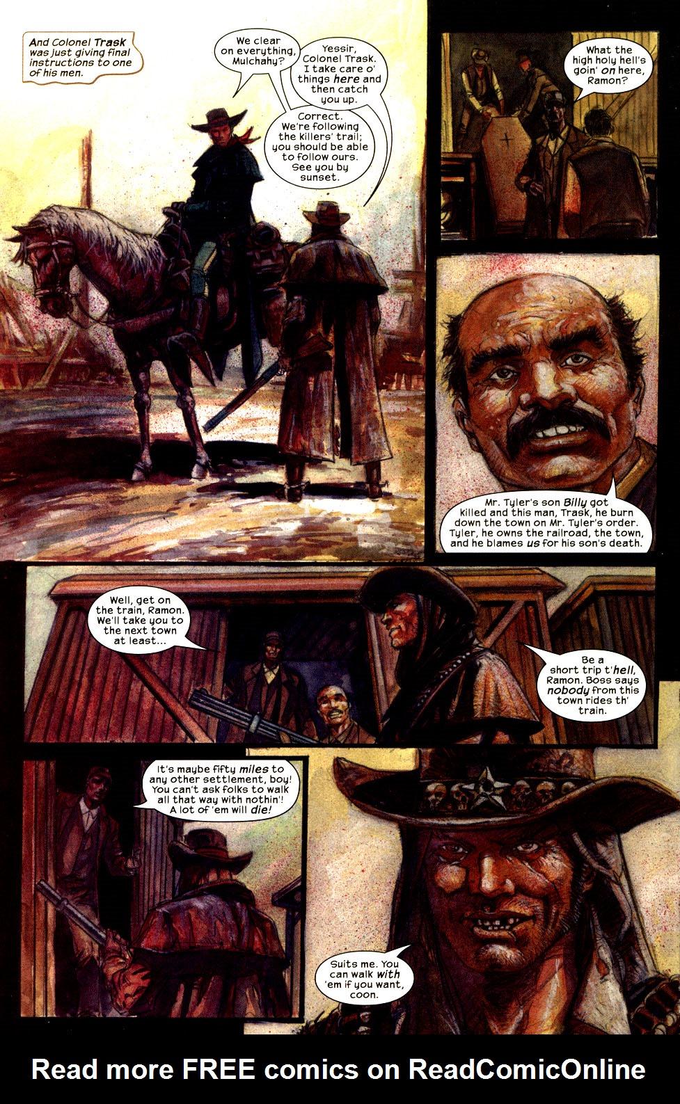 Read online Apache Skies comic -  Issue #3 - 3
