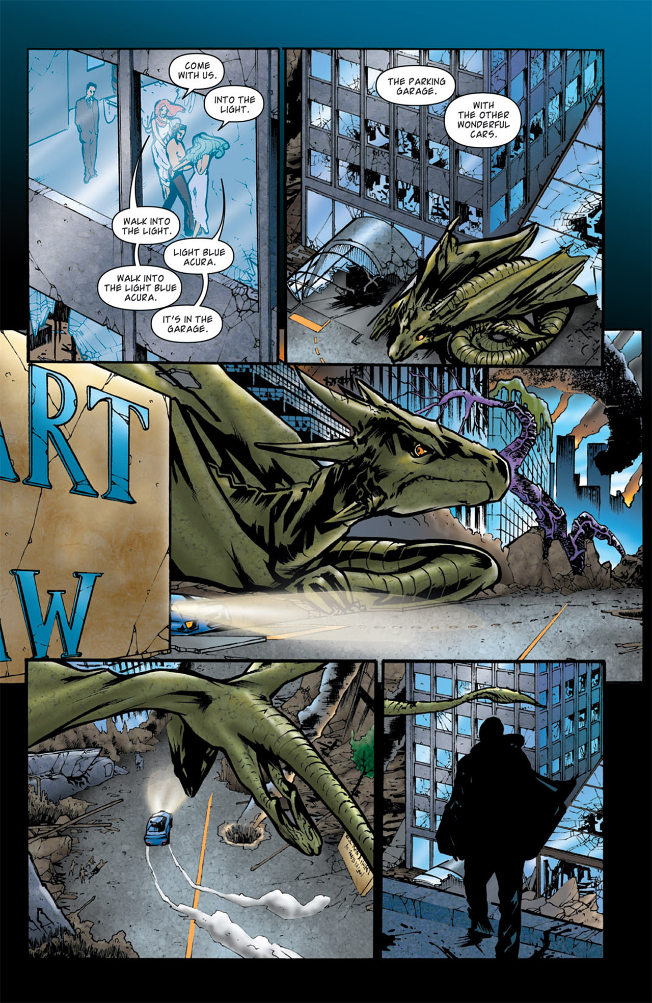 Read online Angel: After The Fall comic -  Issue #4 - 12