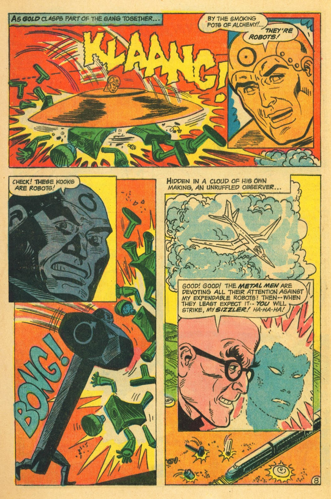 Metal Men (1963) issue 22 - Page 12