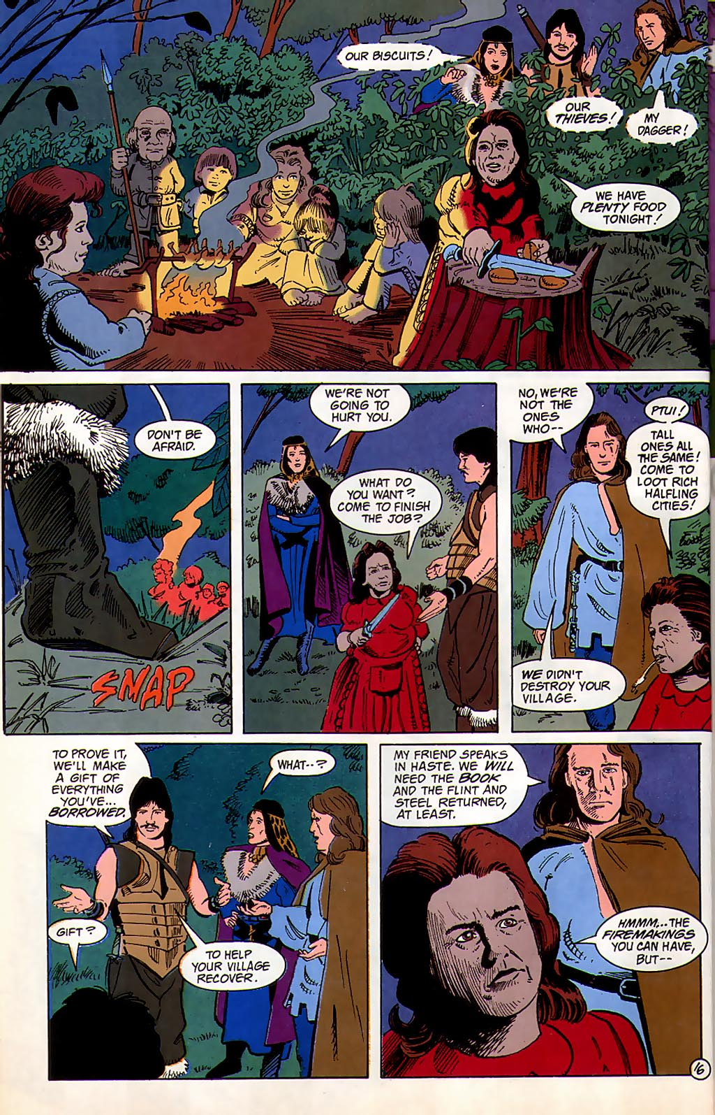 Read online Avatar comic -  Issue #3 - 18