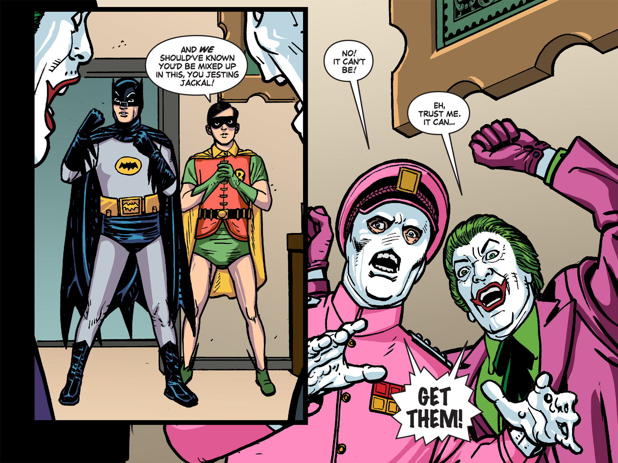 Read online Batman '66 Meets the Green Hornet [II] comic -  Issue #4 - 98