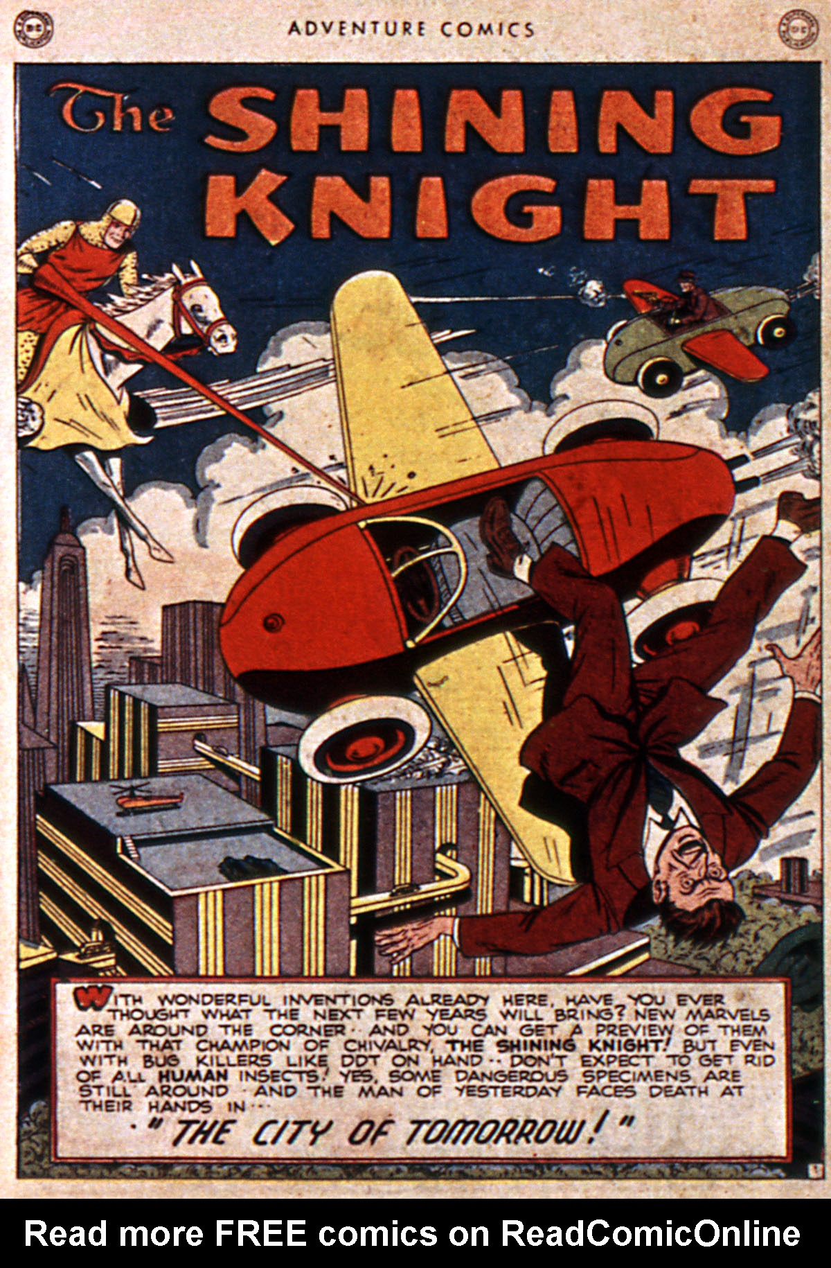 Read online Adventure Comics (1938) comic -  Issue #111 - 32