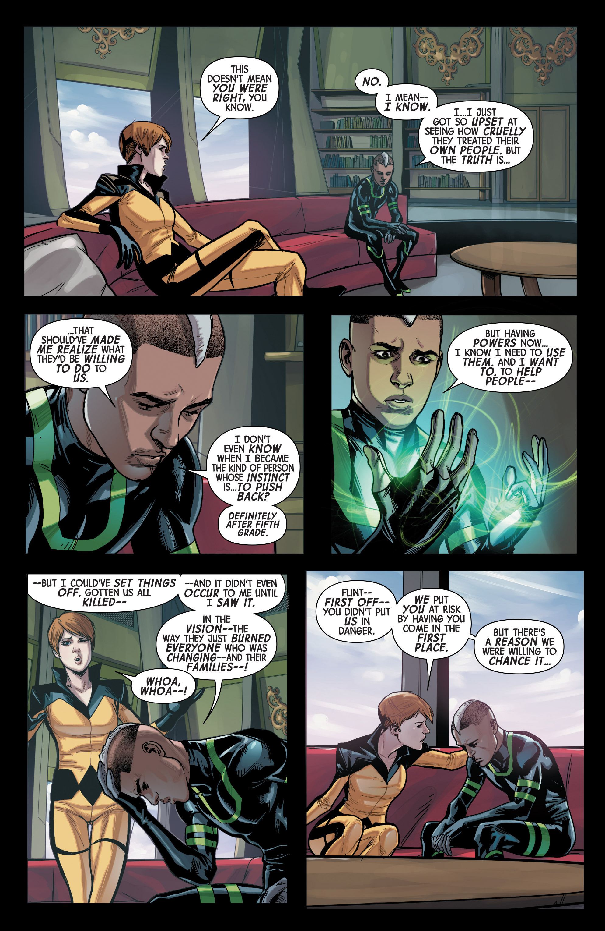 Read online All-New Inhumans comic -  Issue #3 - 6