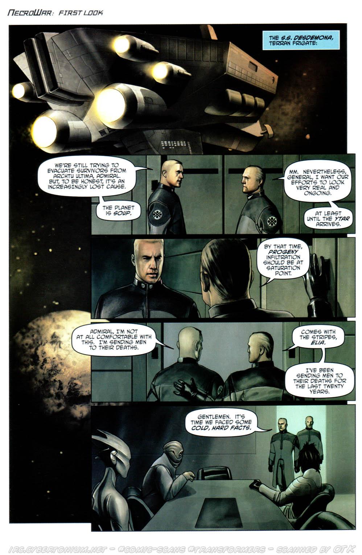 Read online Transformers Armada comic -  Issue #12 - 26