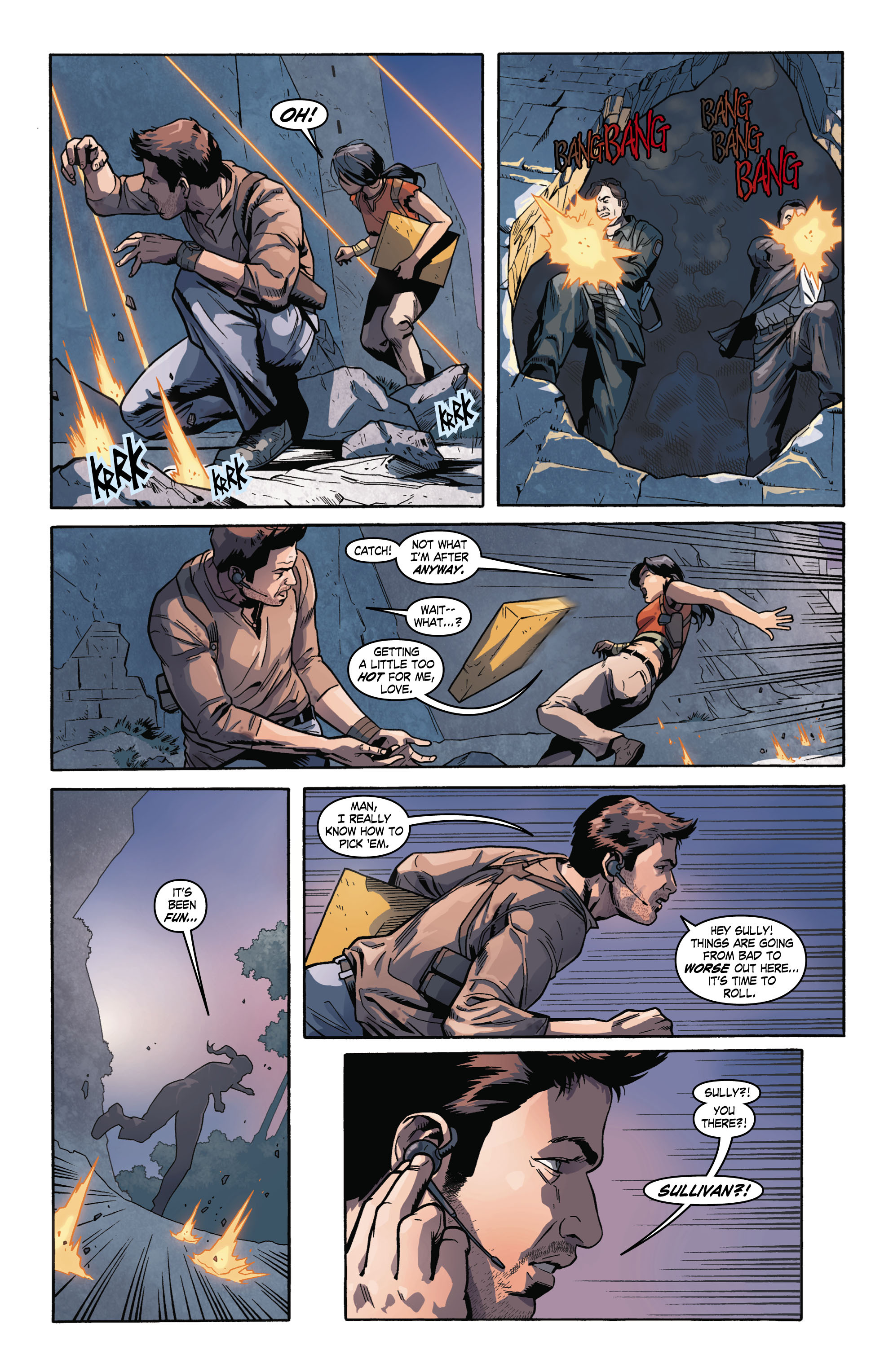 Read online Uncharted comic -  Issue #2 - 14