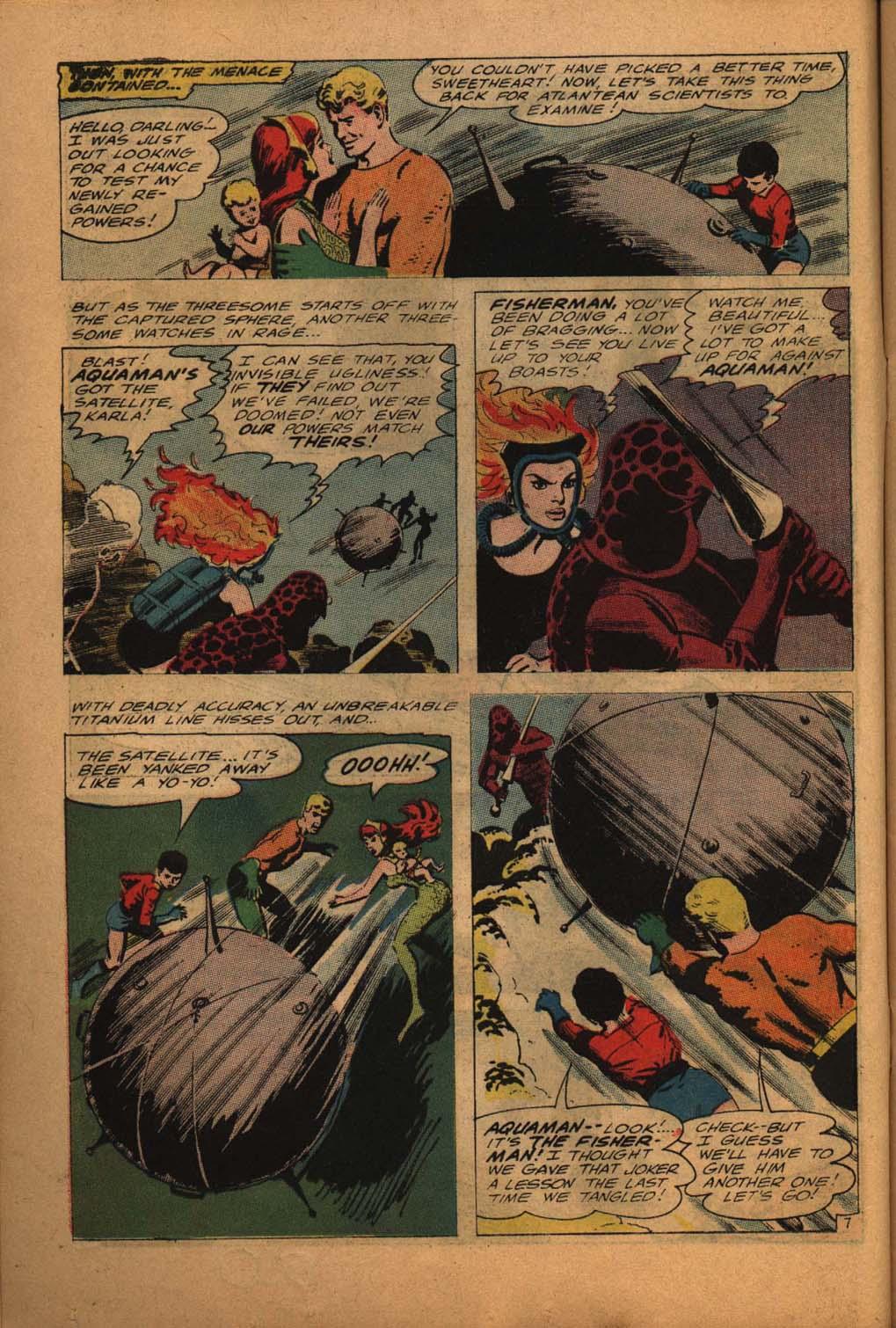 Read online Aquaman (1962) comic -  Issue #24 - 10