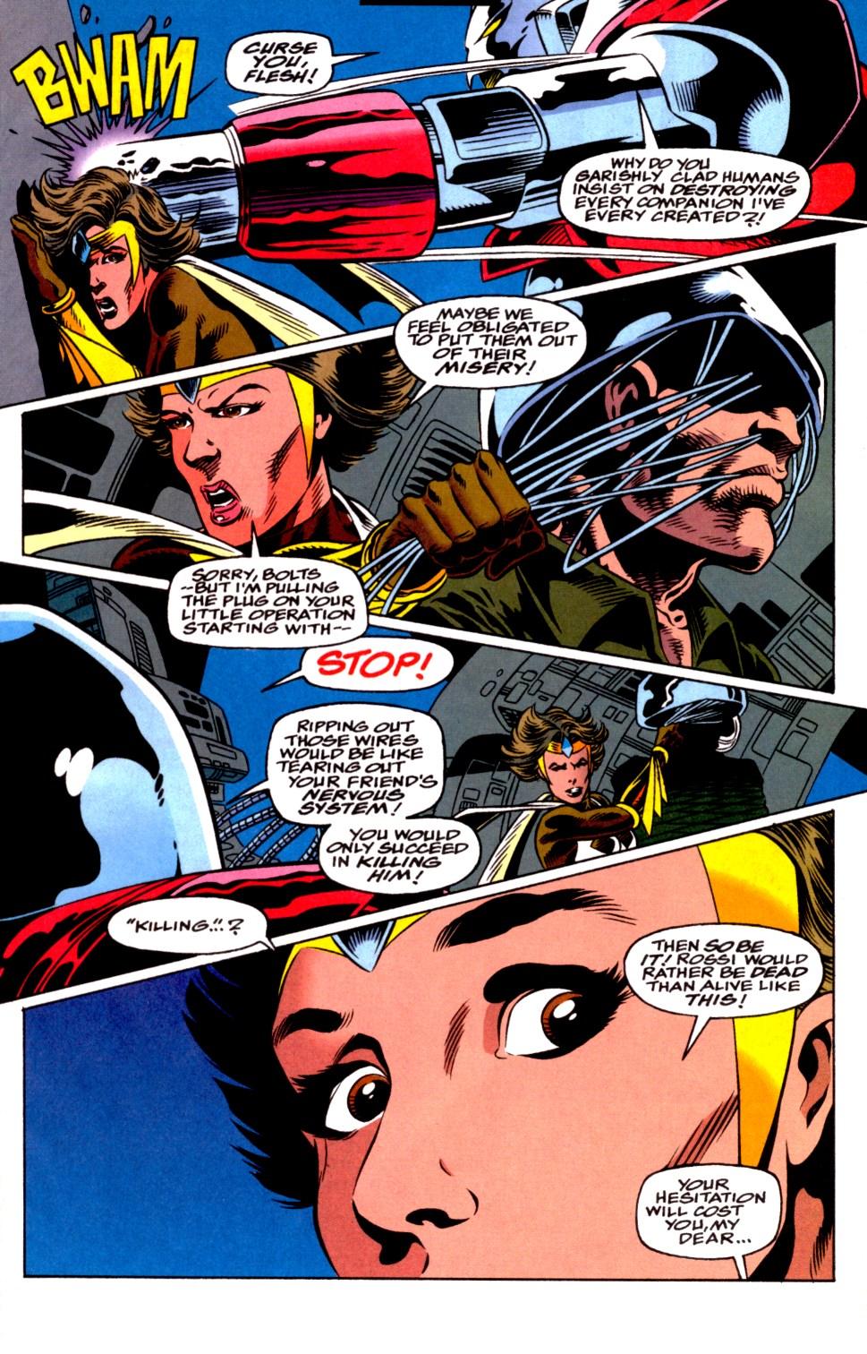 Read online Blackwulf comic -  Issue #4 - 21