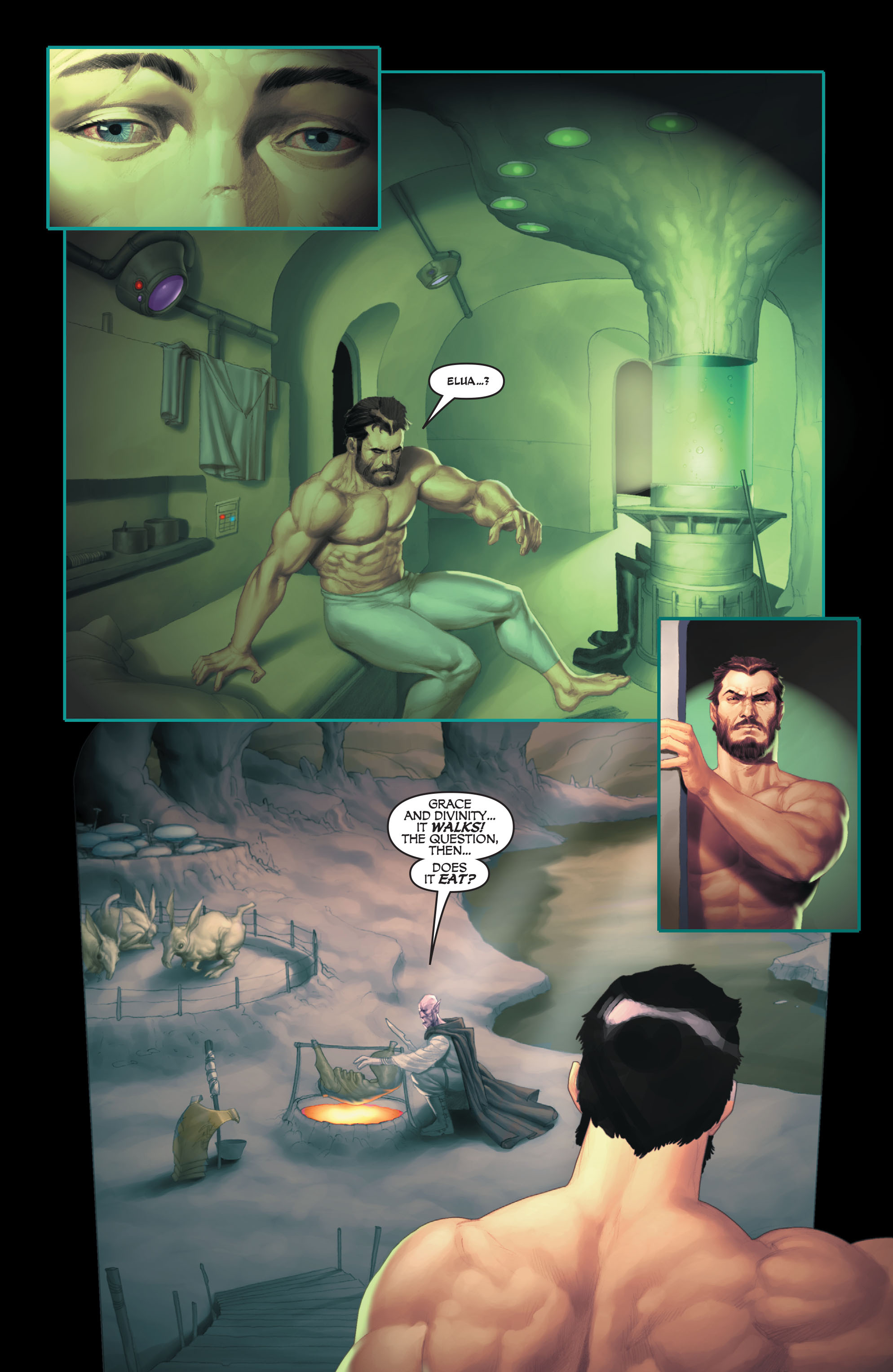 Read online Space Ghost (2016) comic -  Issue # Full - 34