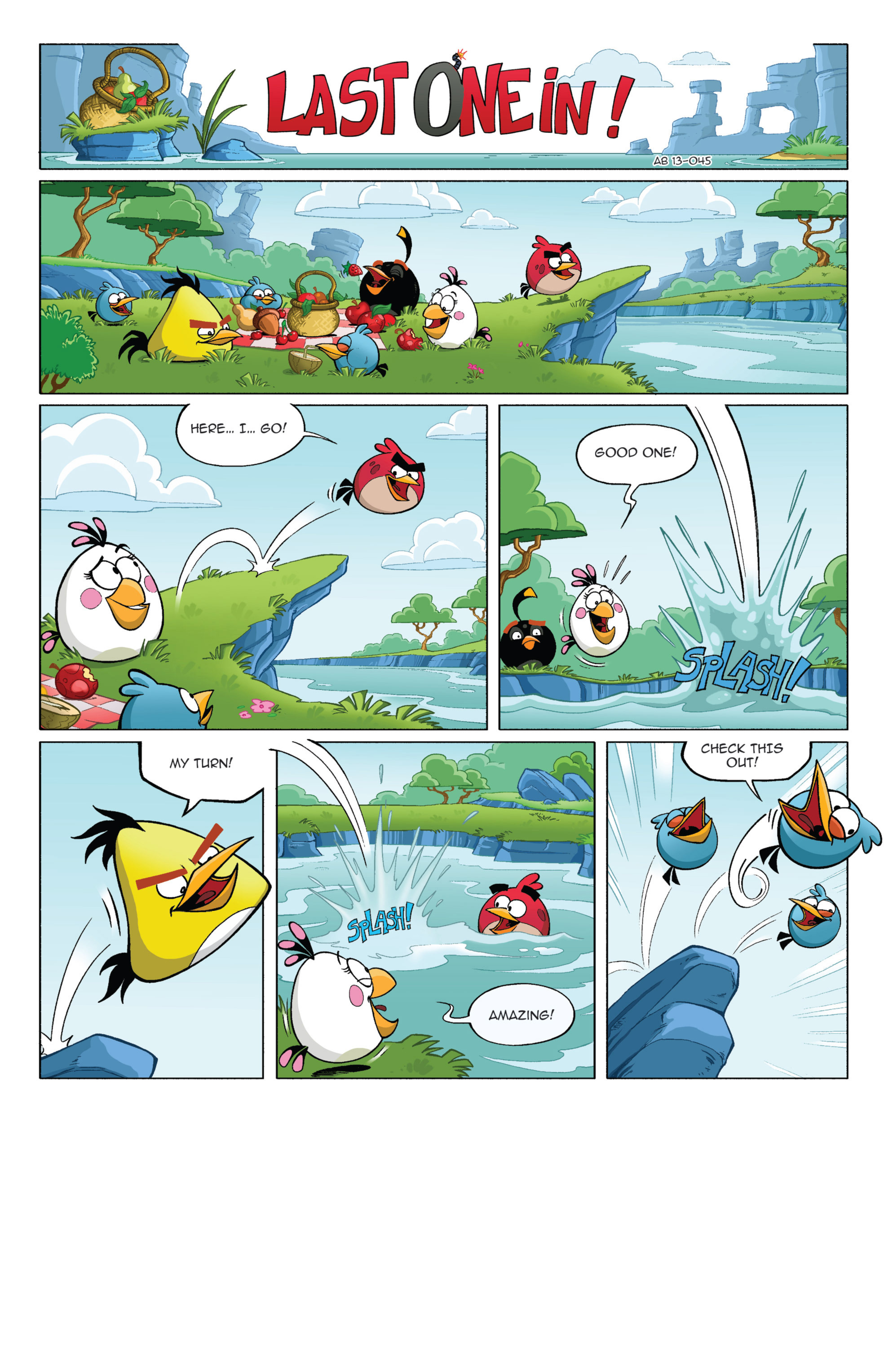 Read online Angry Birds Comics (2014) comic -  Issue #3 - 24
