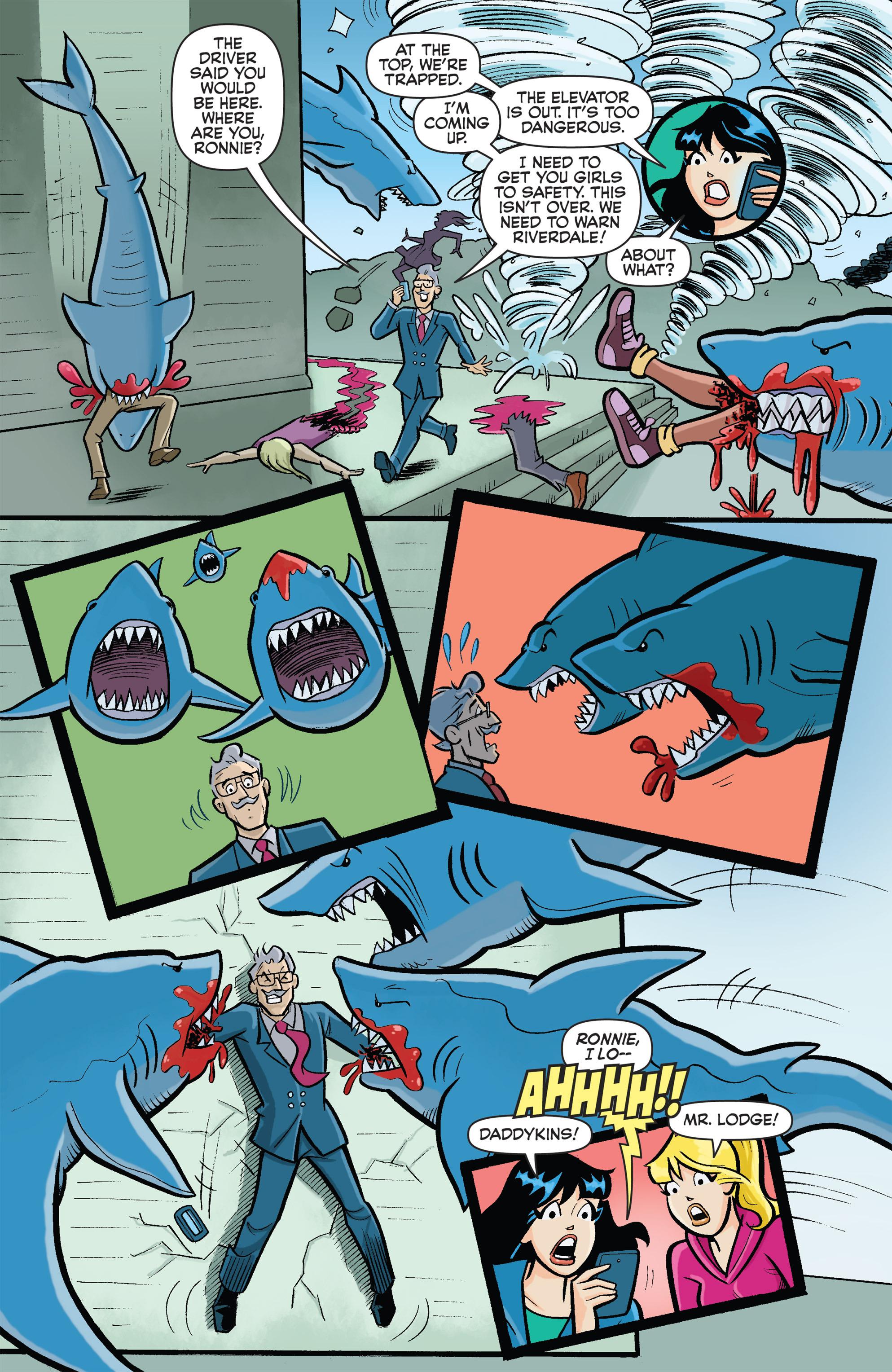 Read online Archie vs. Sharknado comic -  Issue #Archie vs. Sharknado Full - 7