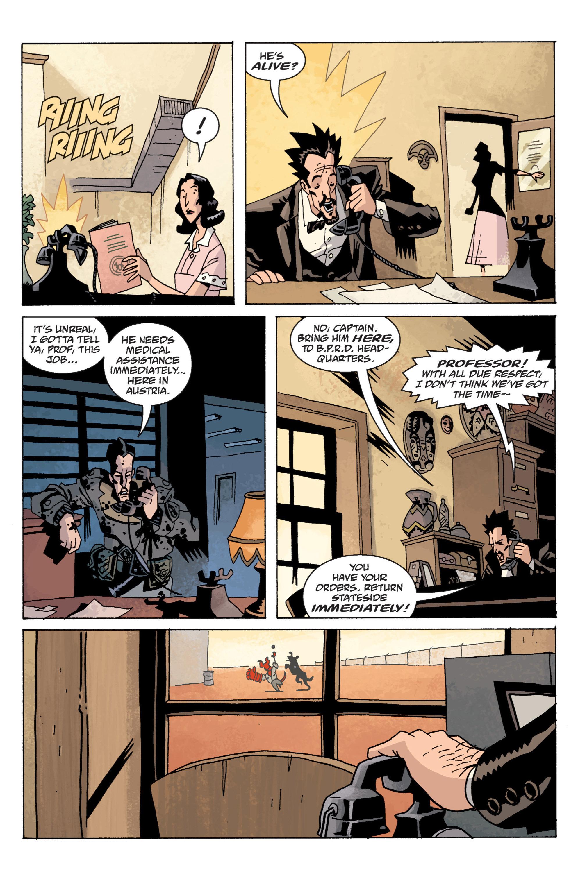 Read online B.P.R.D. (2003) comic -  Issue # TPB 13 - 107