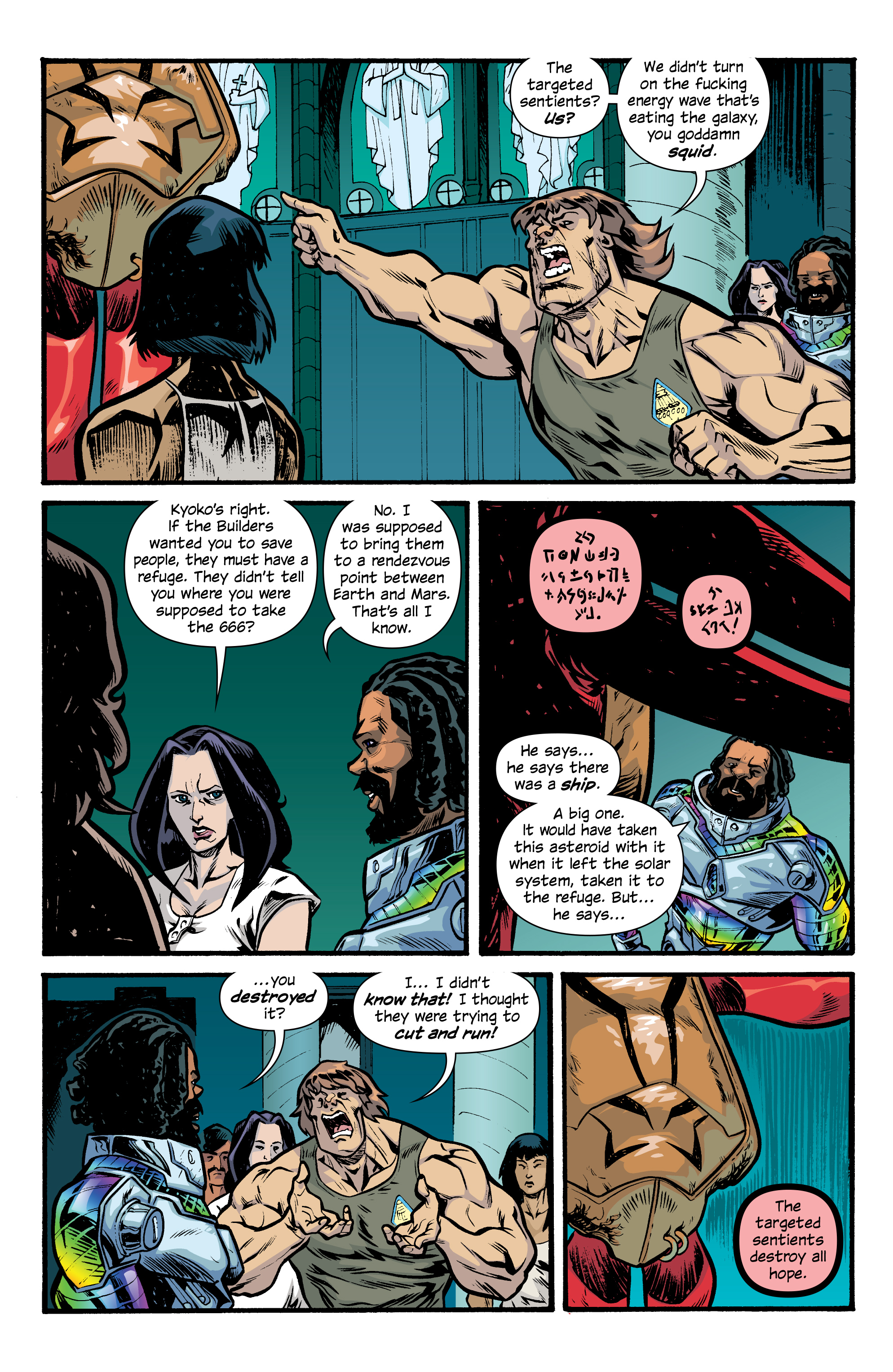 Read online Letter 44 comic -  Issue #33 - 11