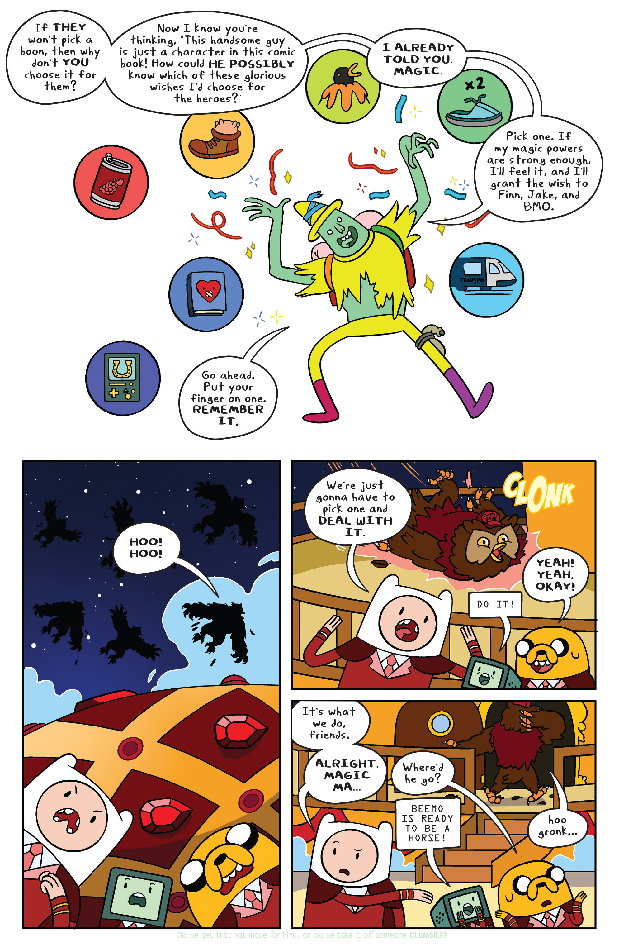 Read online Adventure Time comic -  Issue #40 - 8
