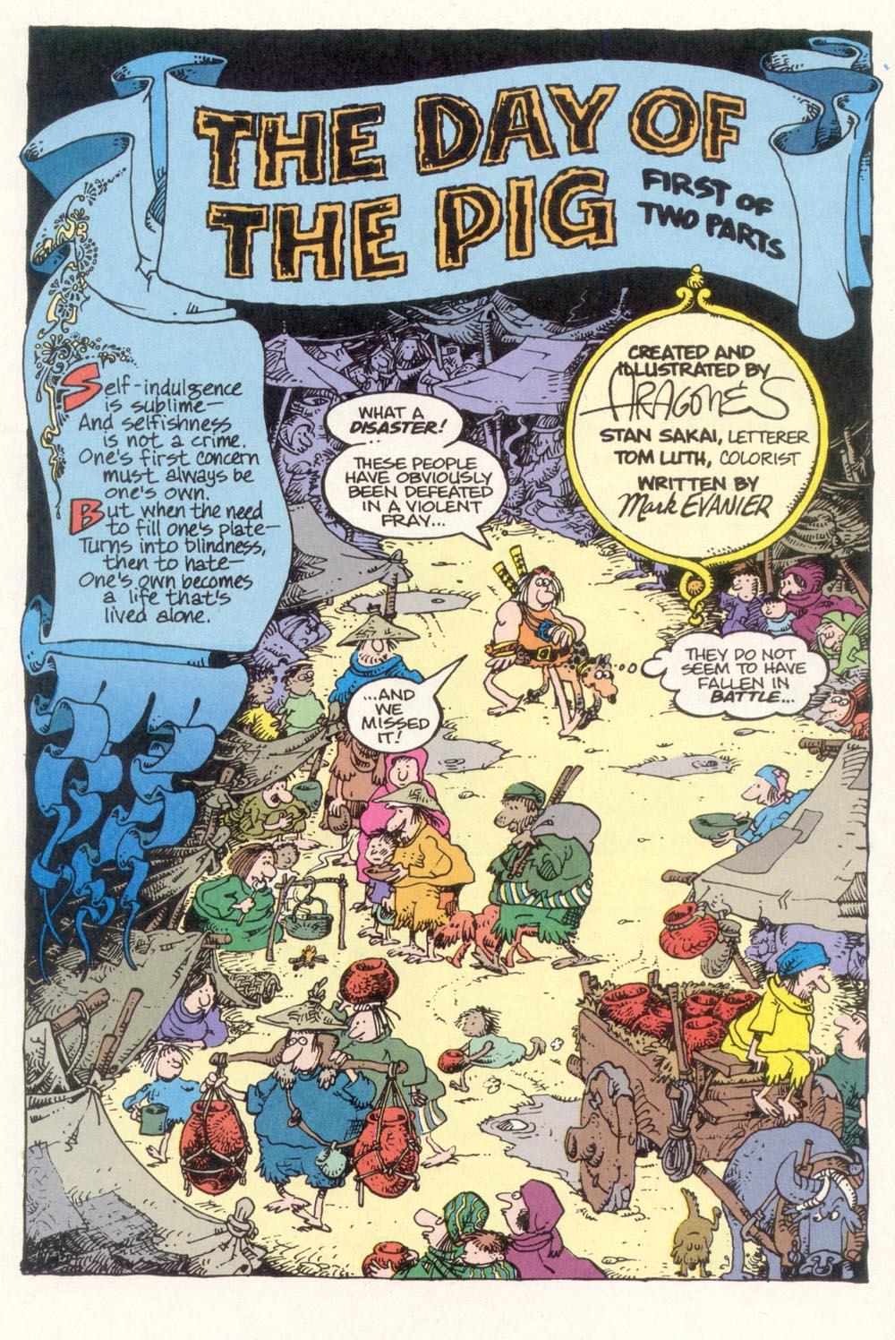Read online Sergio Aragonés Groo the Wanderer comic -  Issue #118 - 3