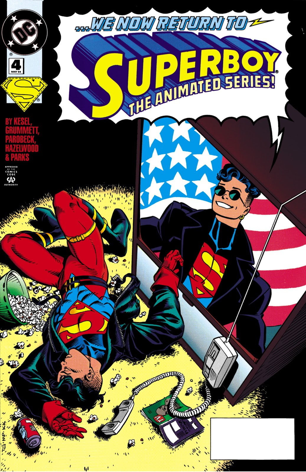 Superboy (1994) 4 Page 1
