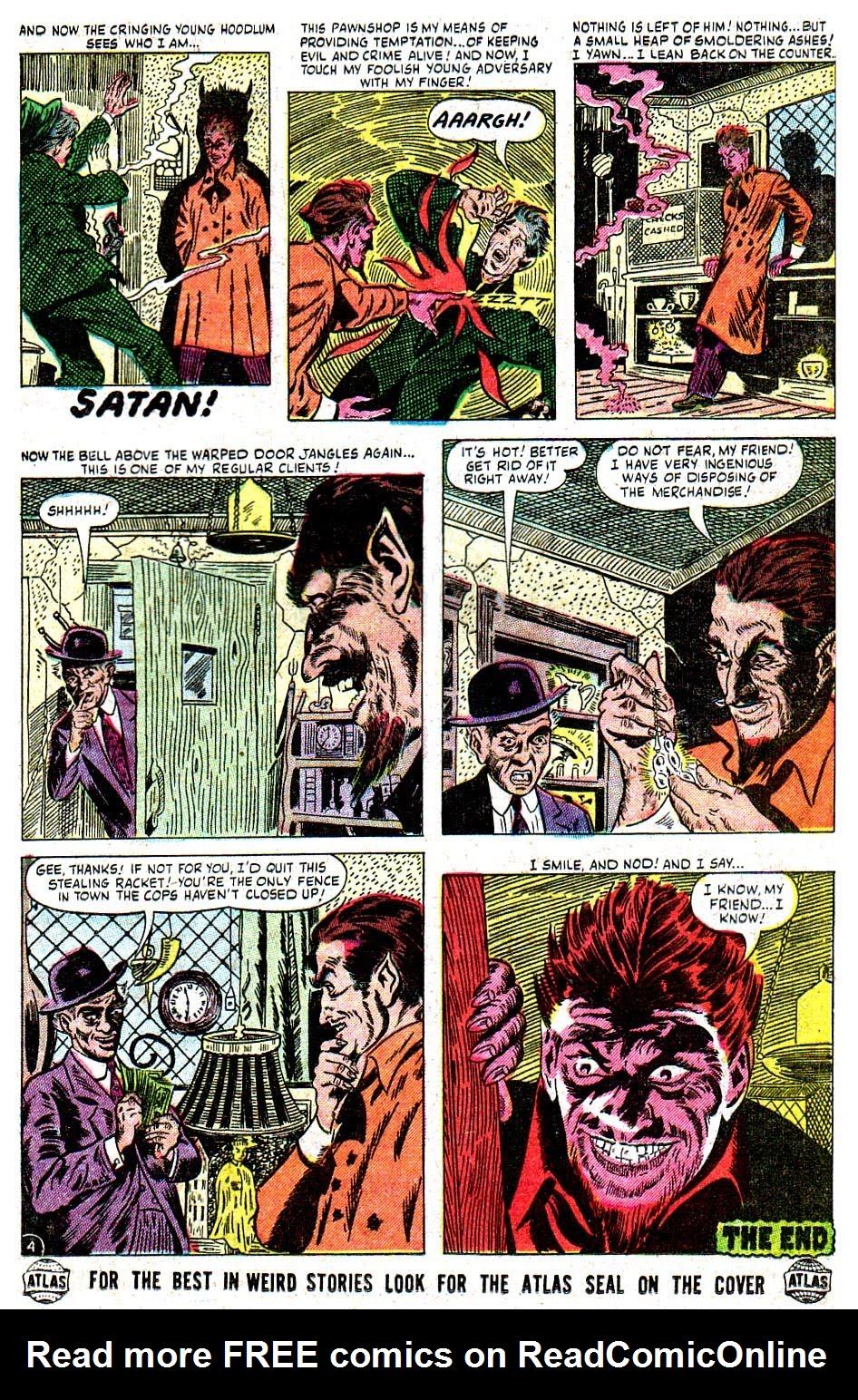 Read online Adventures into Weird Worlds comic -  Issue #28 - 15