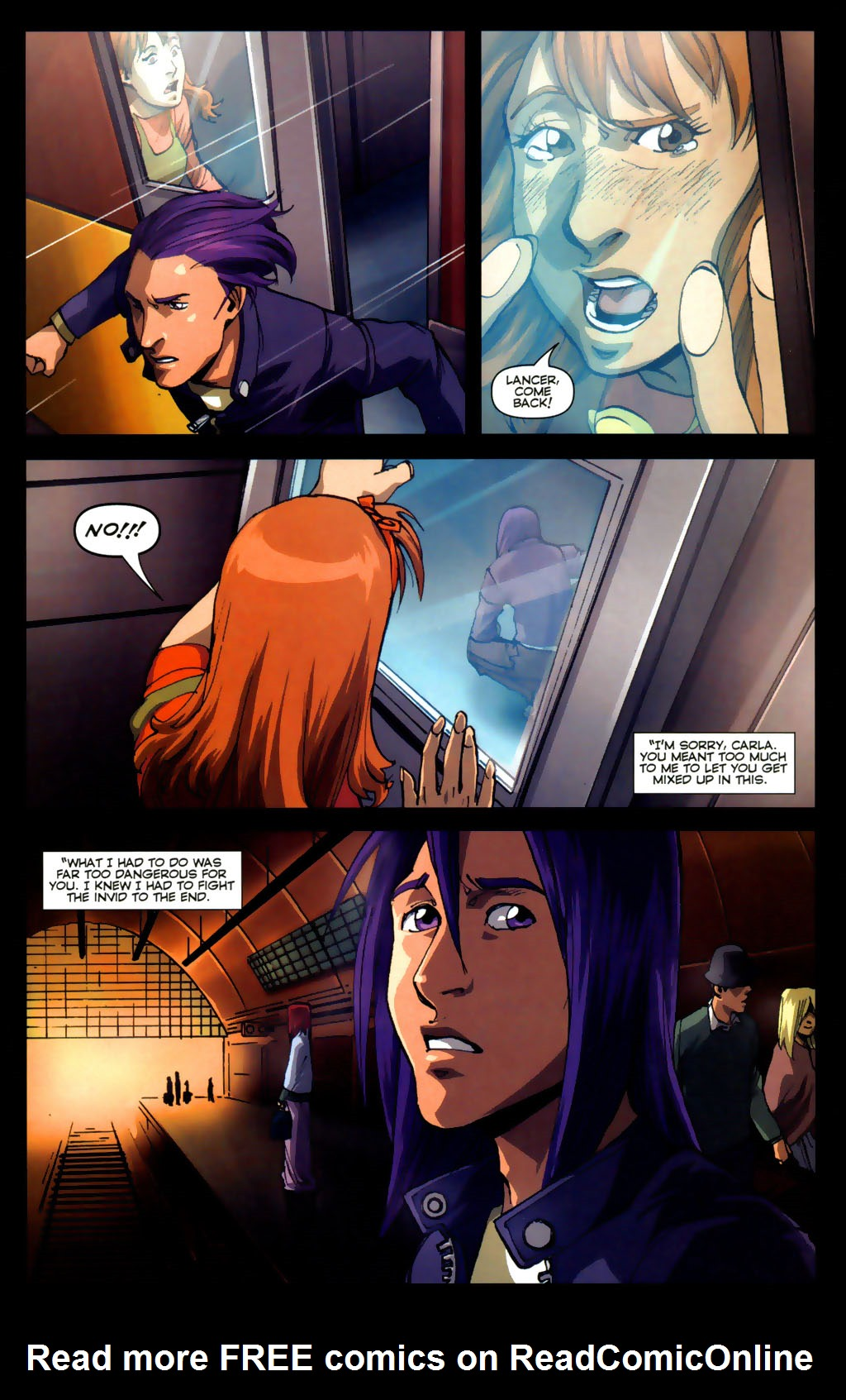 Read online Robotech: Invasion comic -  Issue #5 - 12