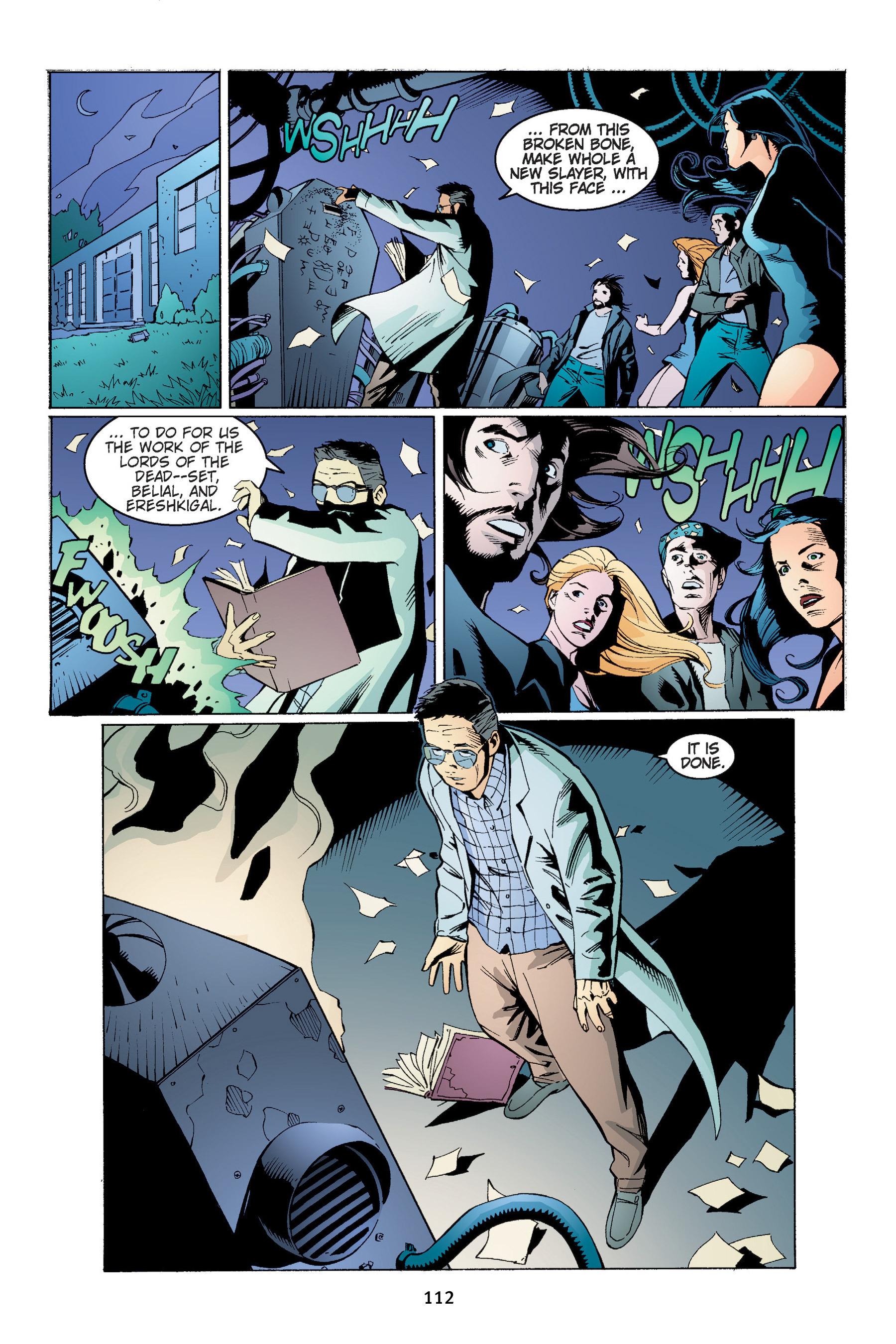 Read online Buffy the Vampire Slayer: Omnibus comic -  Issue # TPB 4 - 113
