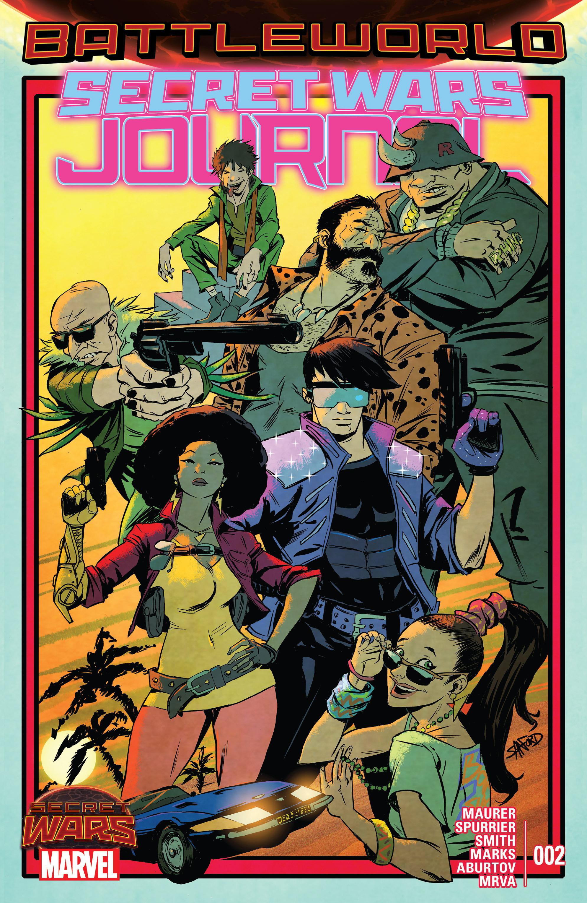 Read online Secret Wars Journal comic -  Issue #2 - 1