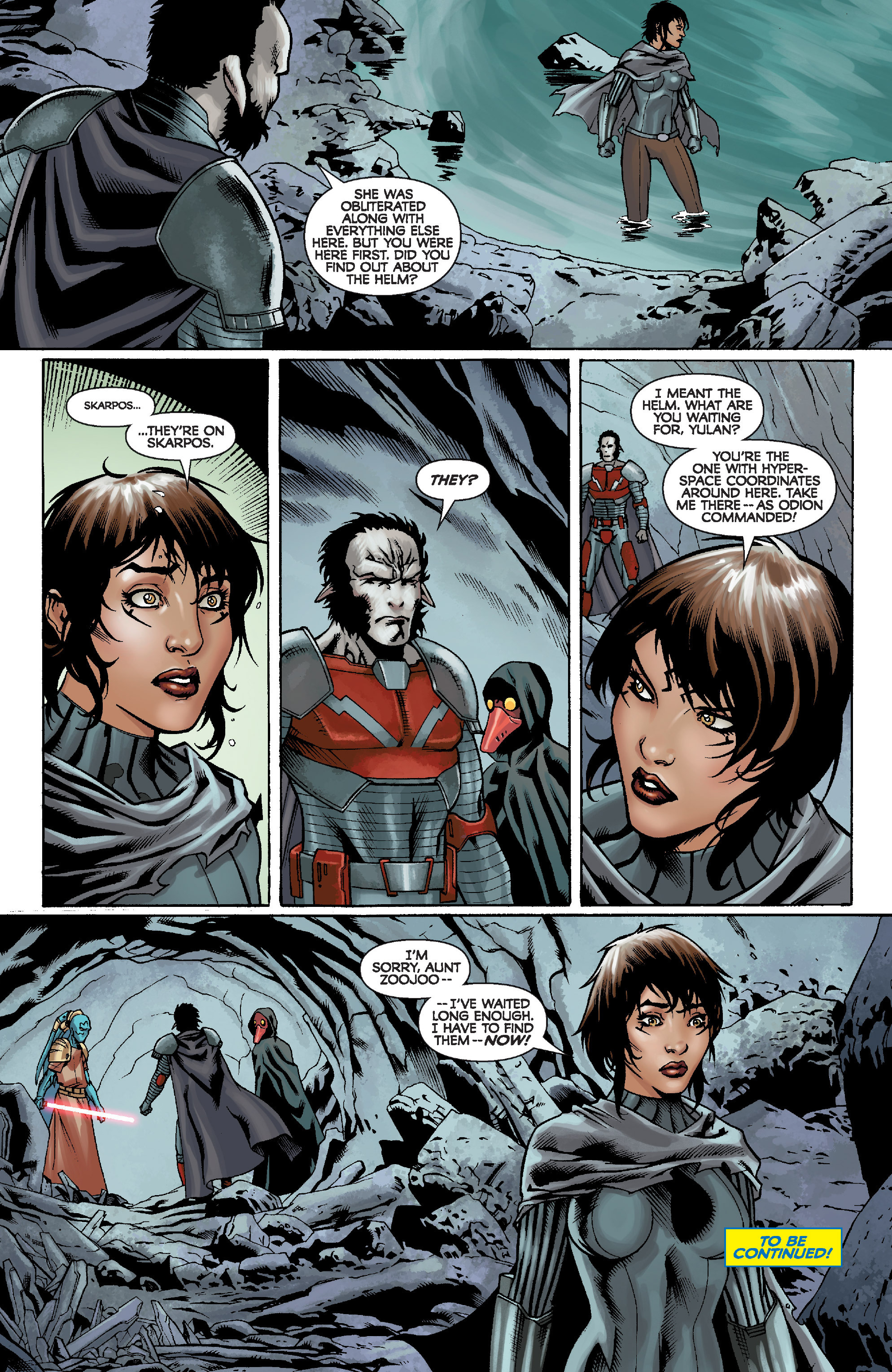 Read online Star Wars: Knight Errant - Escape comic -  Issue #2 - 24