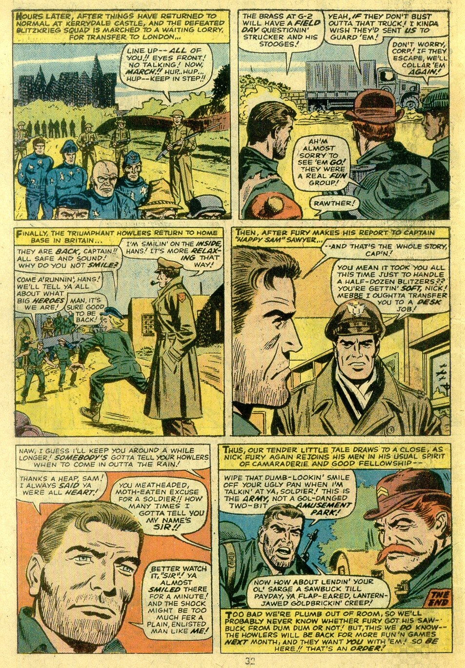 Read online Sgt. Fury comic -  Issue #122 - 34