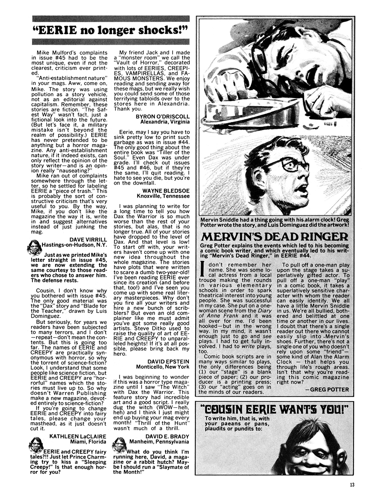 Read online Eerie Archives comic -  Issue # TPB 10 - 14