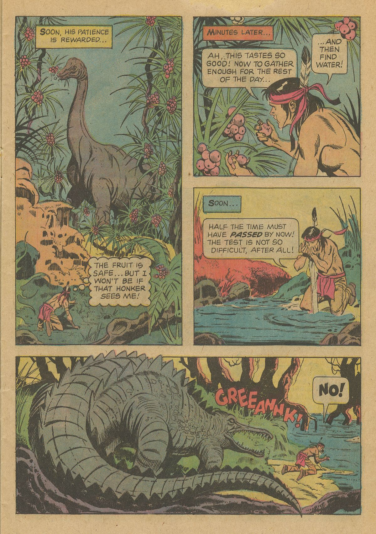 Read online Turok, Son of Stone comic -  Issue #96 - 9