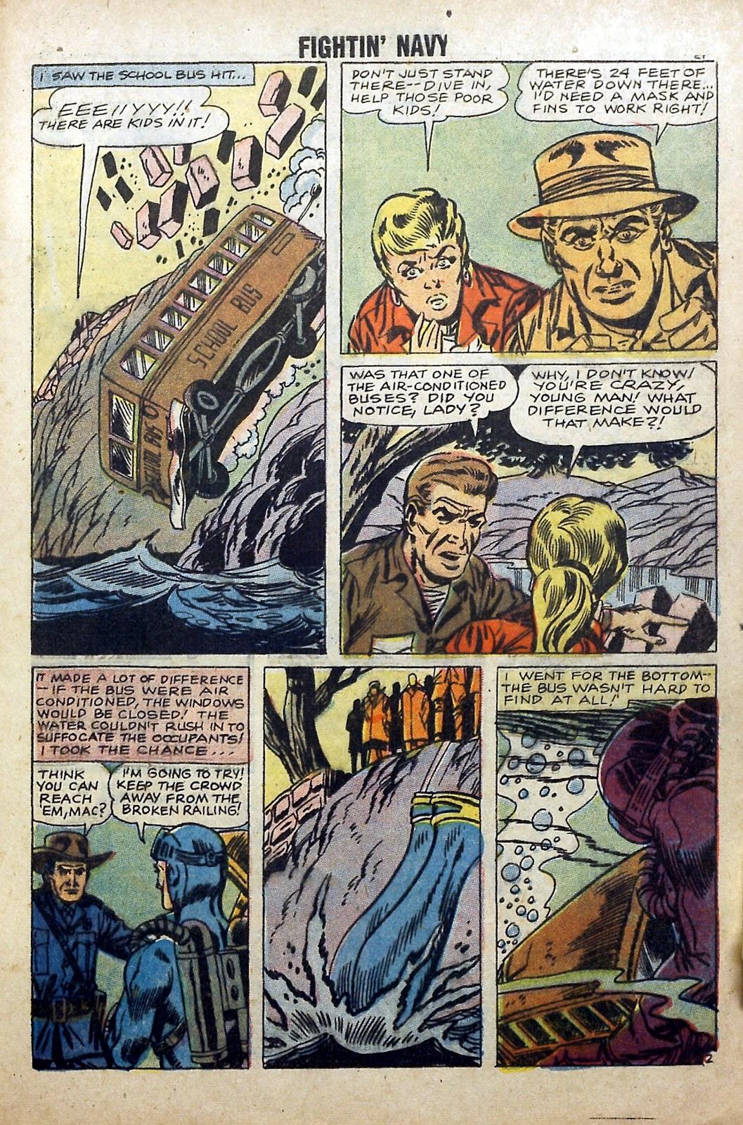 Read online Fightin' Navy comic -  Issue #84 - 29