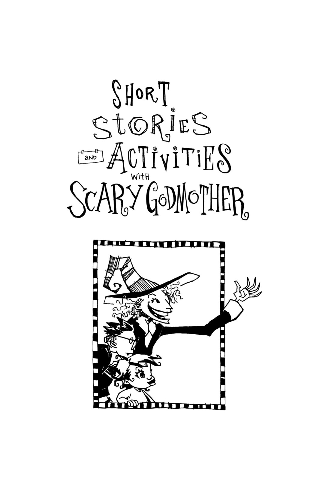 Read online Scary Godmother Comic Book Stories comic -  Issue # TPB - 263