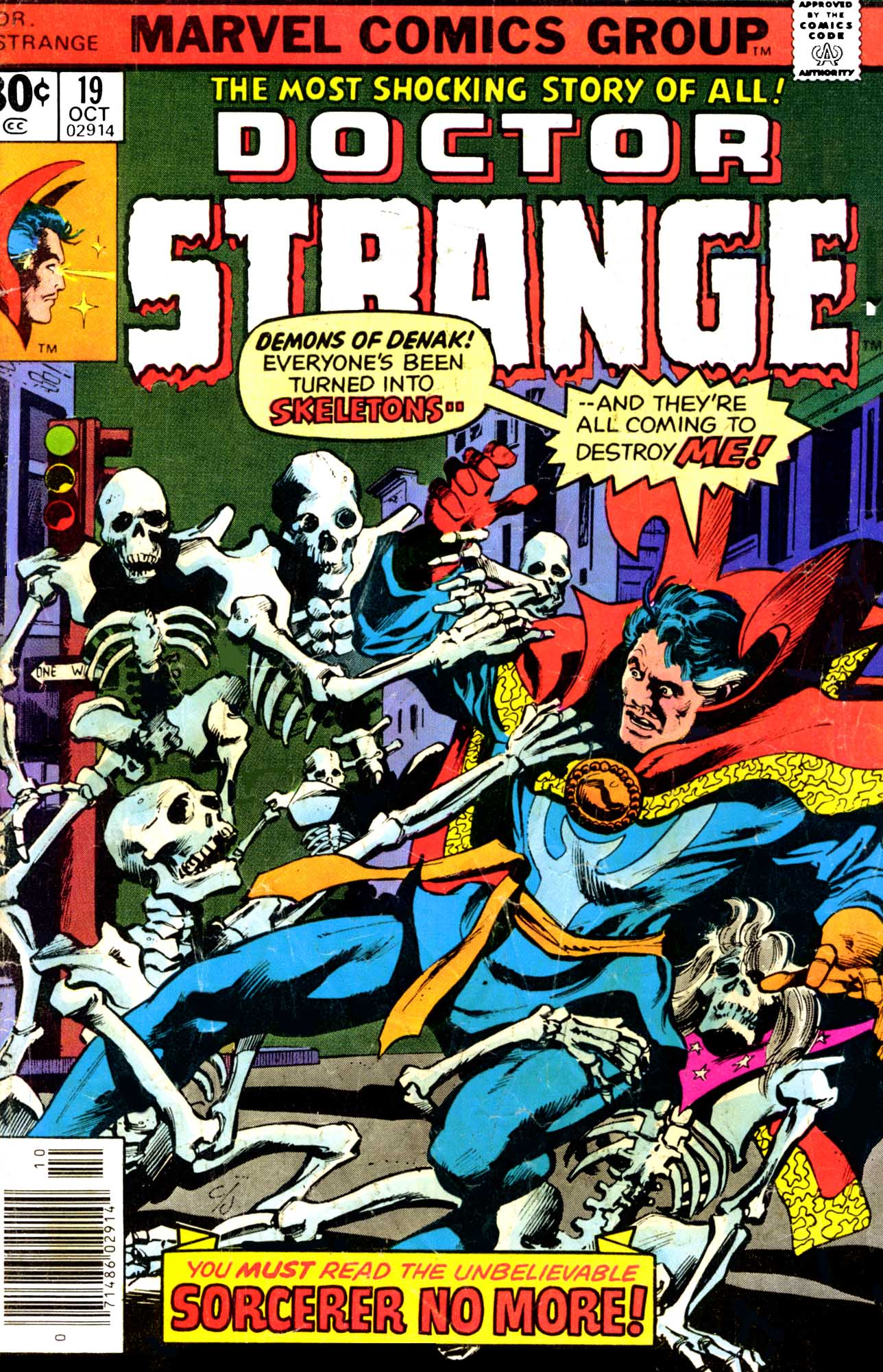 Doctor Strange (1974) 19 Page 1