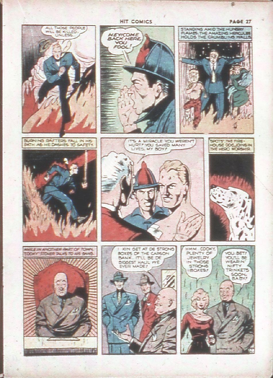 Read online Hit Comics comic -  Issue #7 - 29
