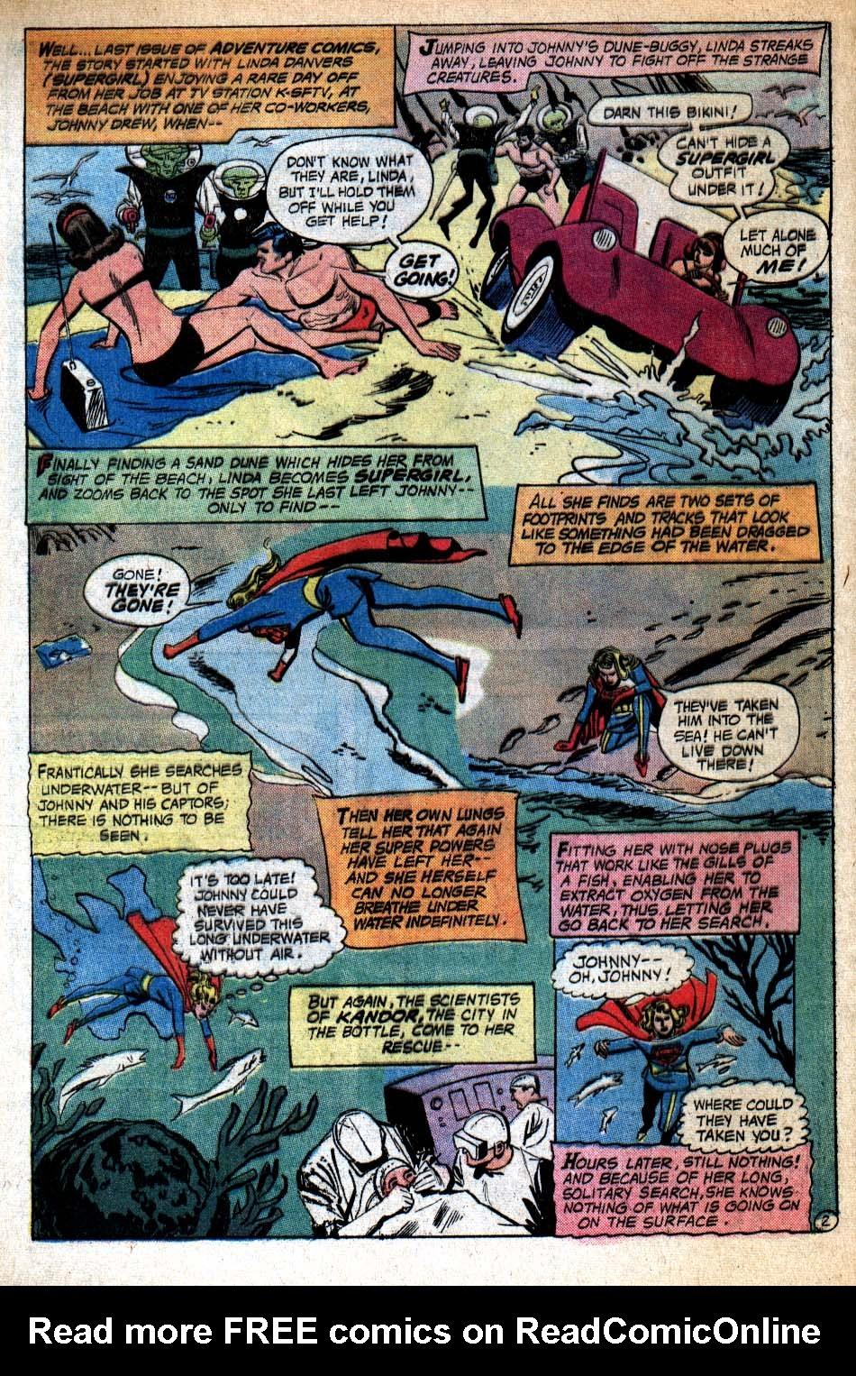 Read online Adventure Comics (1938) comic -  Issue #409 - 4