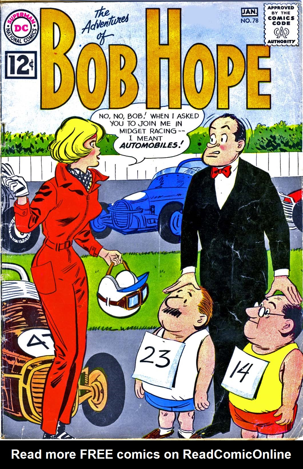 The Adventures of Bob Hope 78 Page 1