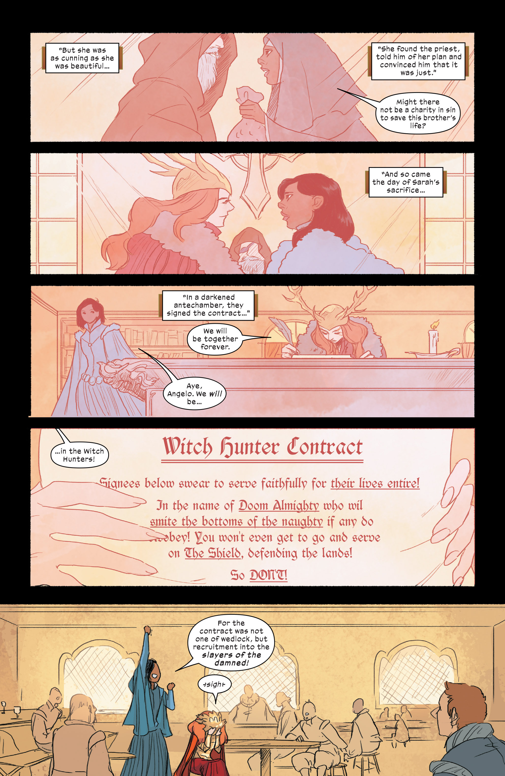 Read online 1602 Witch Hunter Angela comic -  Issue #2 - 13