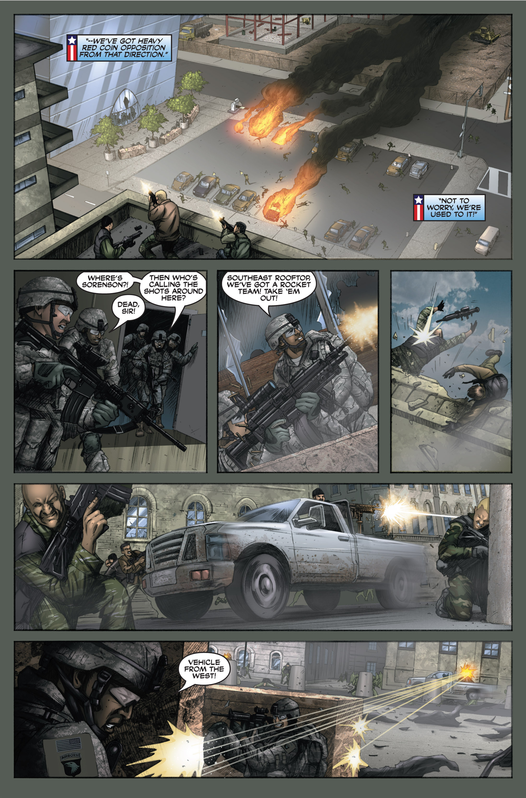 Read online America's Army comic -  Issue #6 - 28