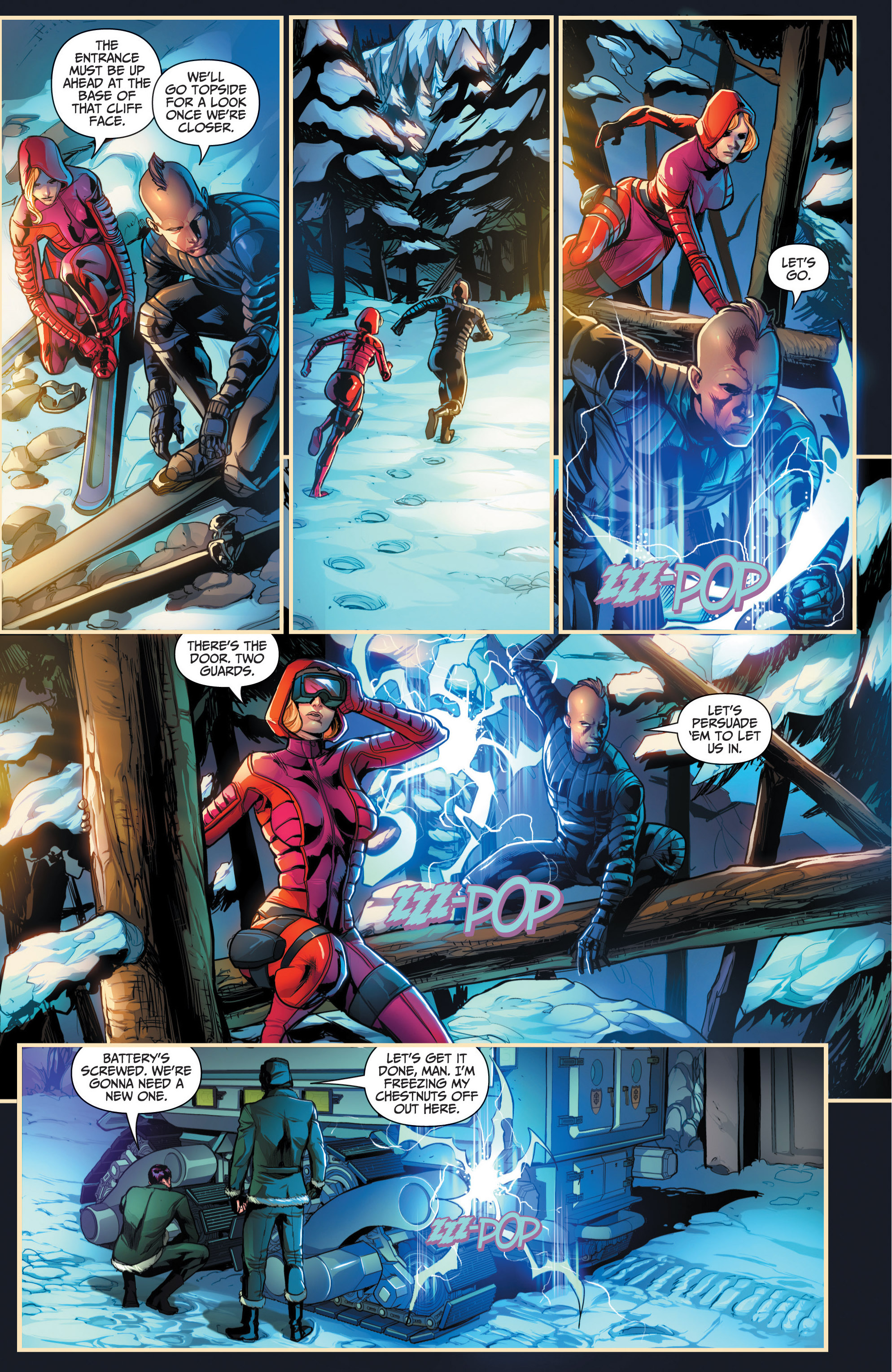 Read online Grimm Fairy Tales presents Red Agent: The Human Order comic -  Issue #6 - 16