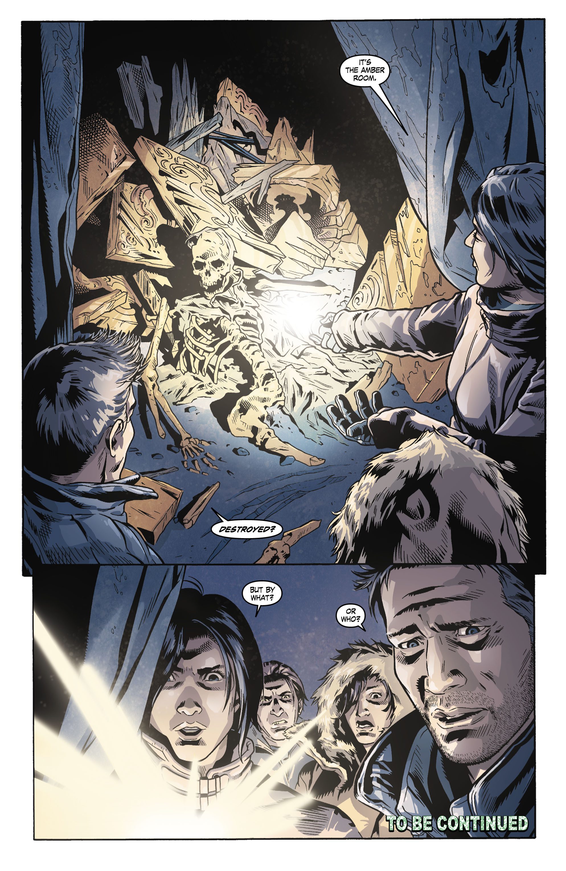 Read online Uncharted comic -  Issue #3 - 21