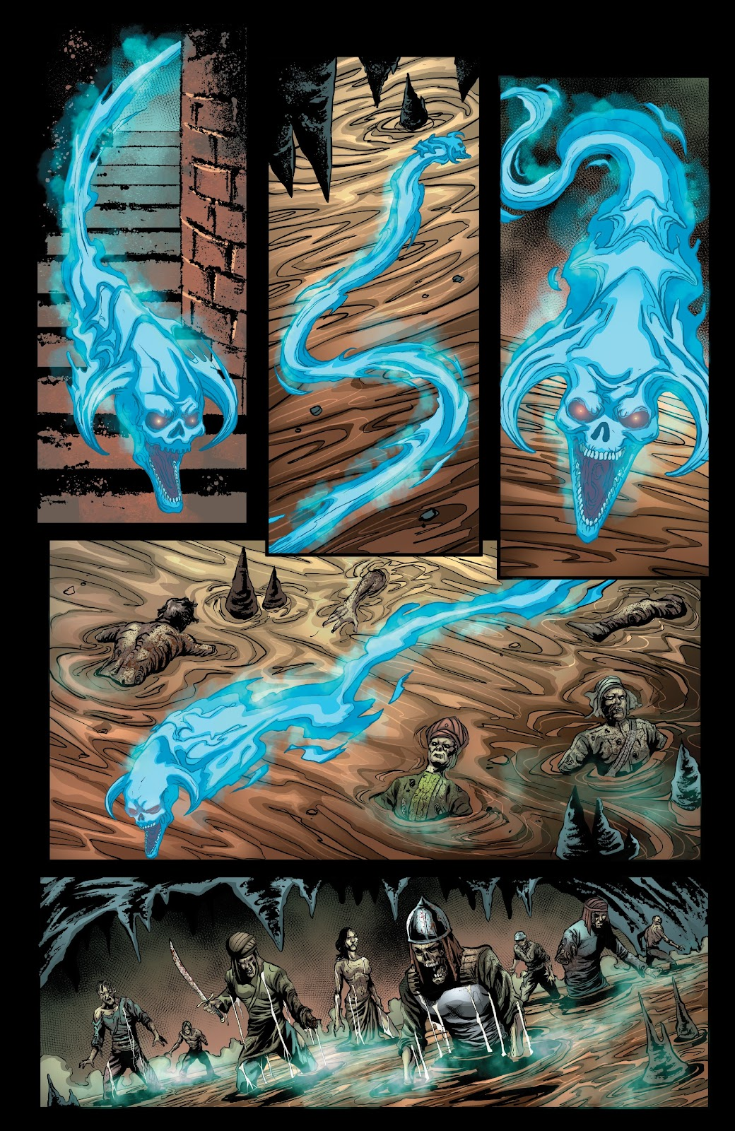 Read online Van Helsing: Sword of Heaven comic -  Issue #6 - 11