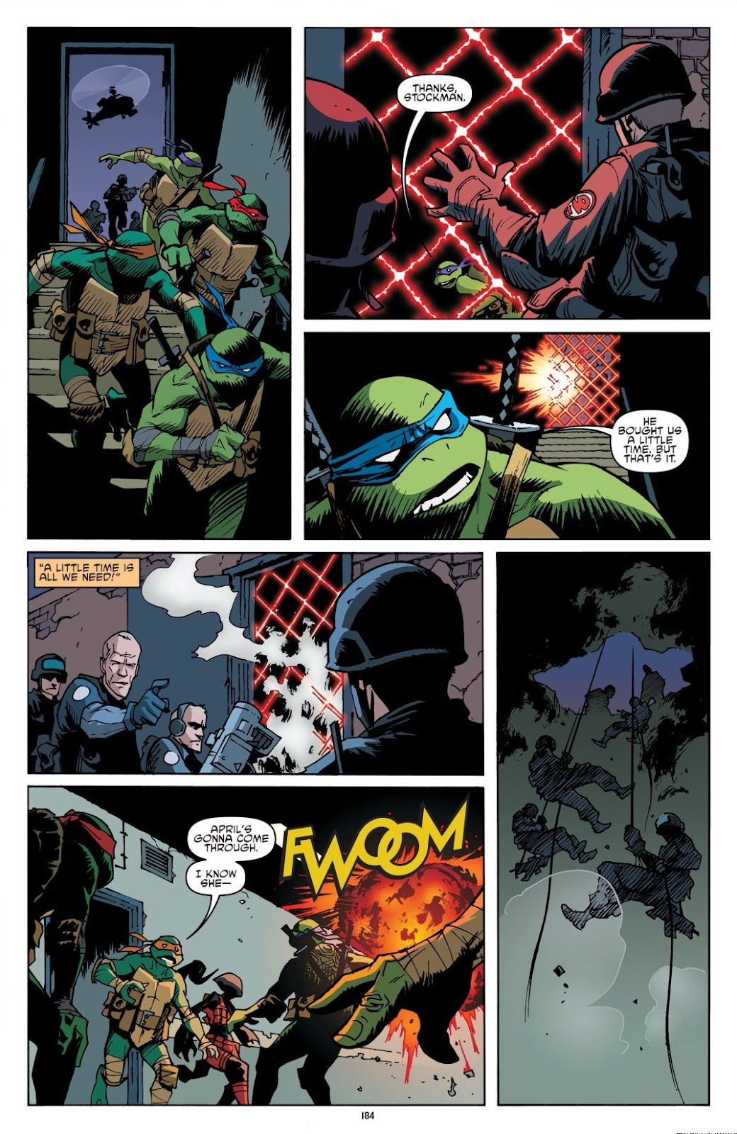 Read online Teenage Mutant Ninja Turtles: The IDW Collection comic -  Issue # TPB 8 (Part 2) - 83