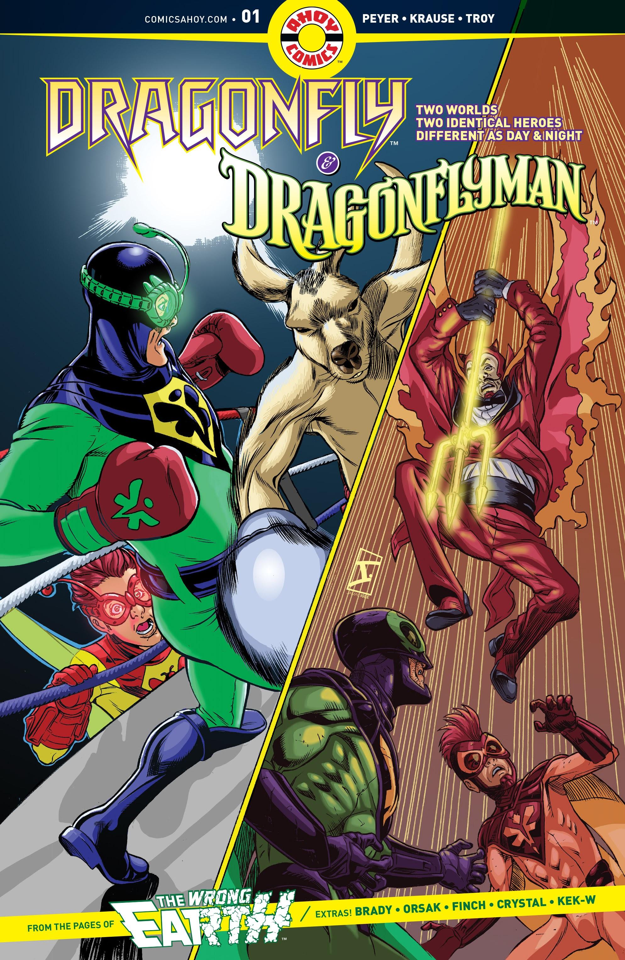 Dragonfly & Dragonflyman 1 Page 1