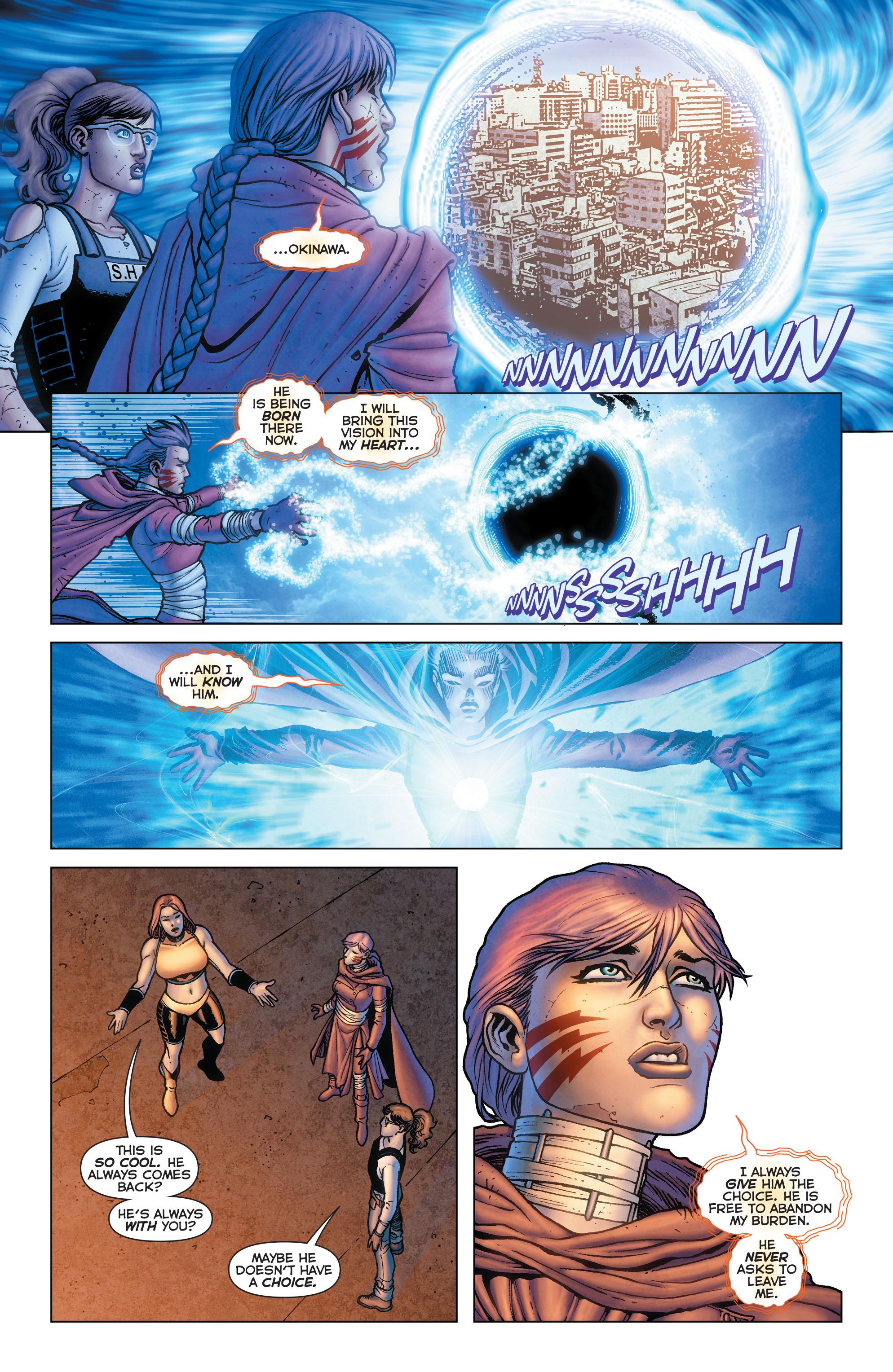 Read online Trinity of Sin: Pandora comic -  Issue #13 - 16