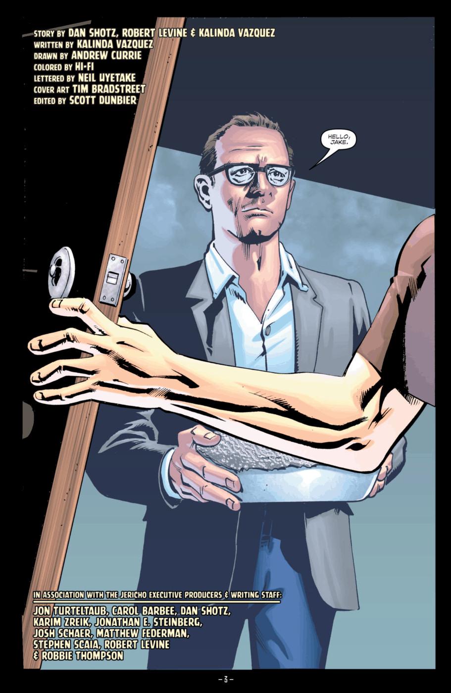 Read online Jericho Season 4 comic -  Issue #2 - 5
