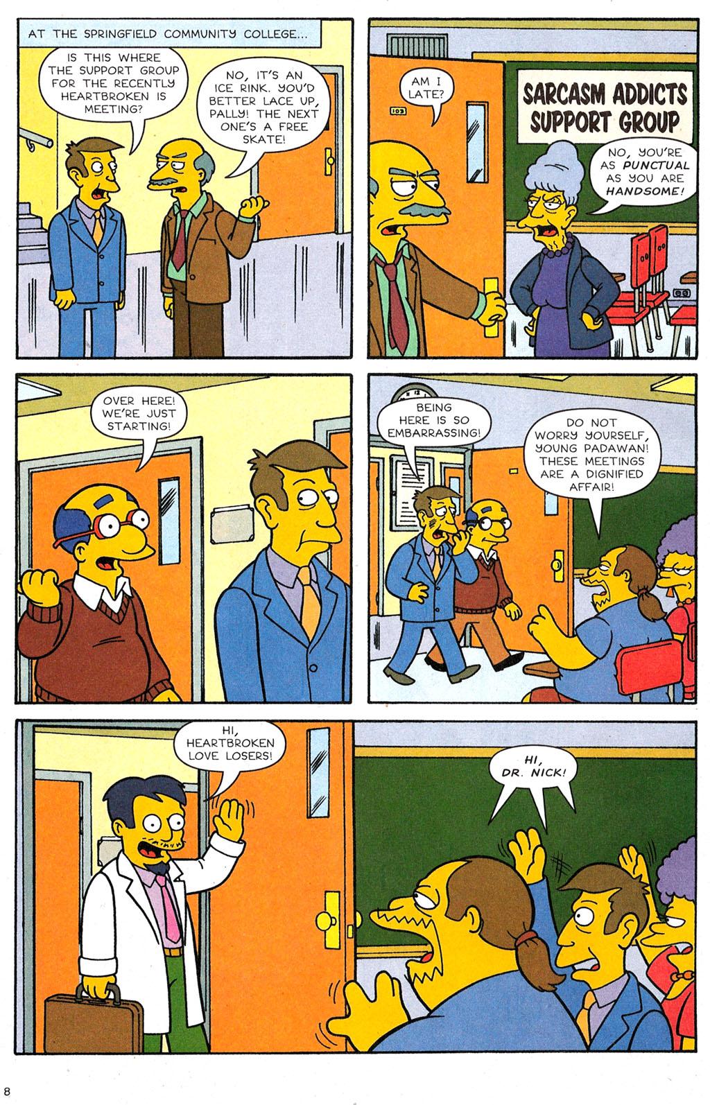 Read online Simpsons Comics comic -  Issue #118 - 7